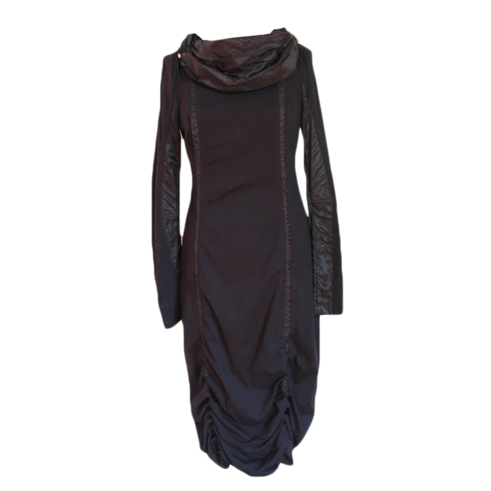 Robe mi-longue KRISTINA POPOVITCH Noir
