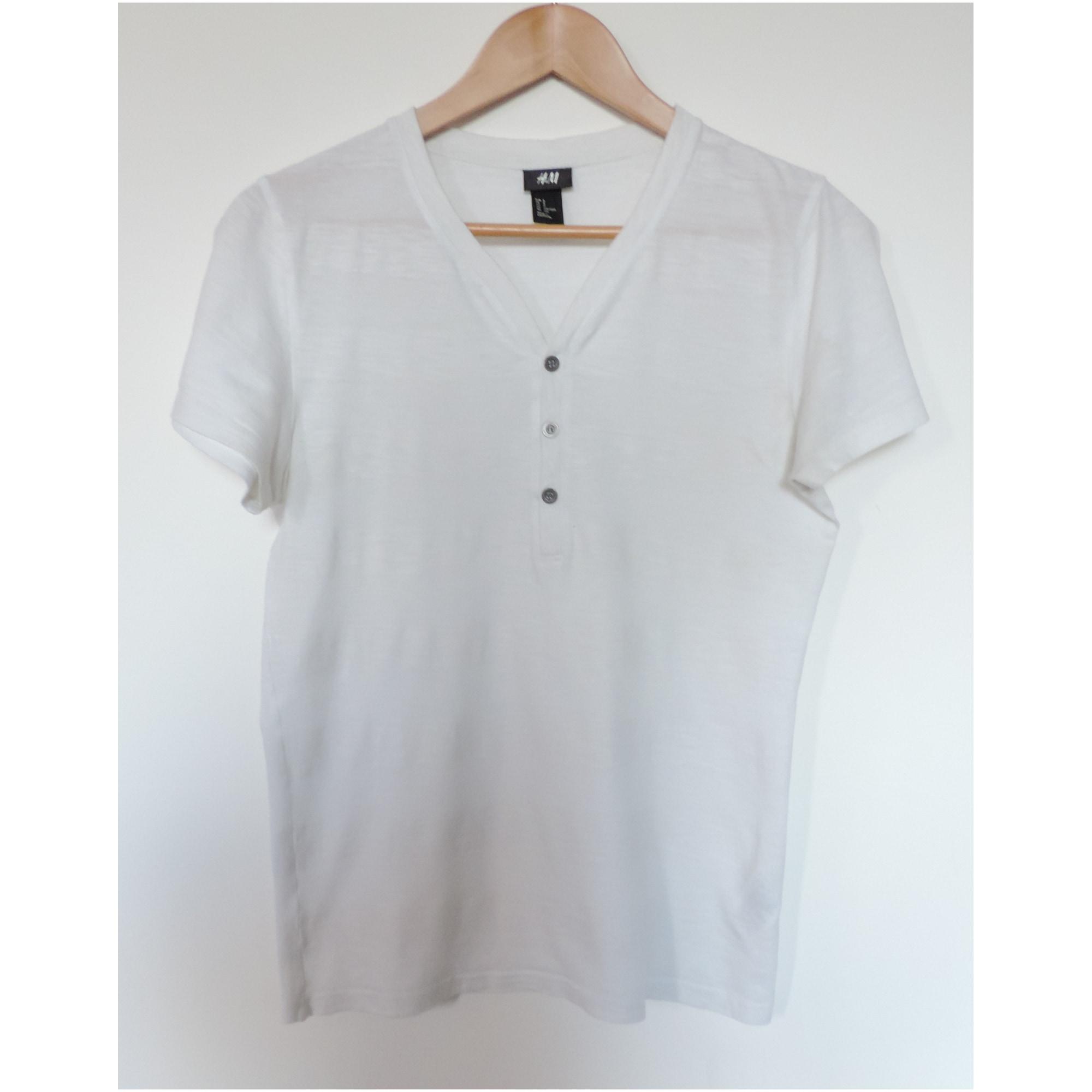 T-shirt H&M White, off-white, ecru