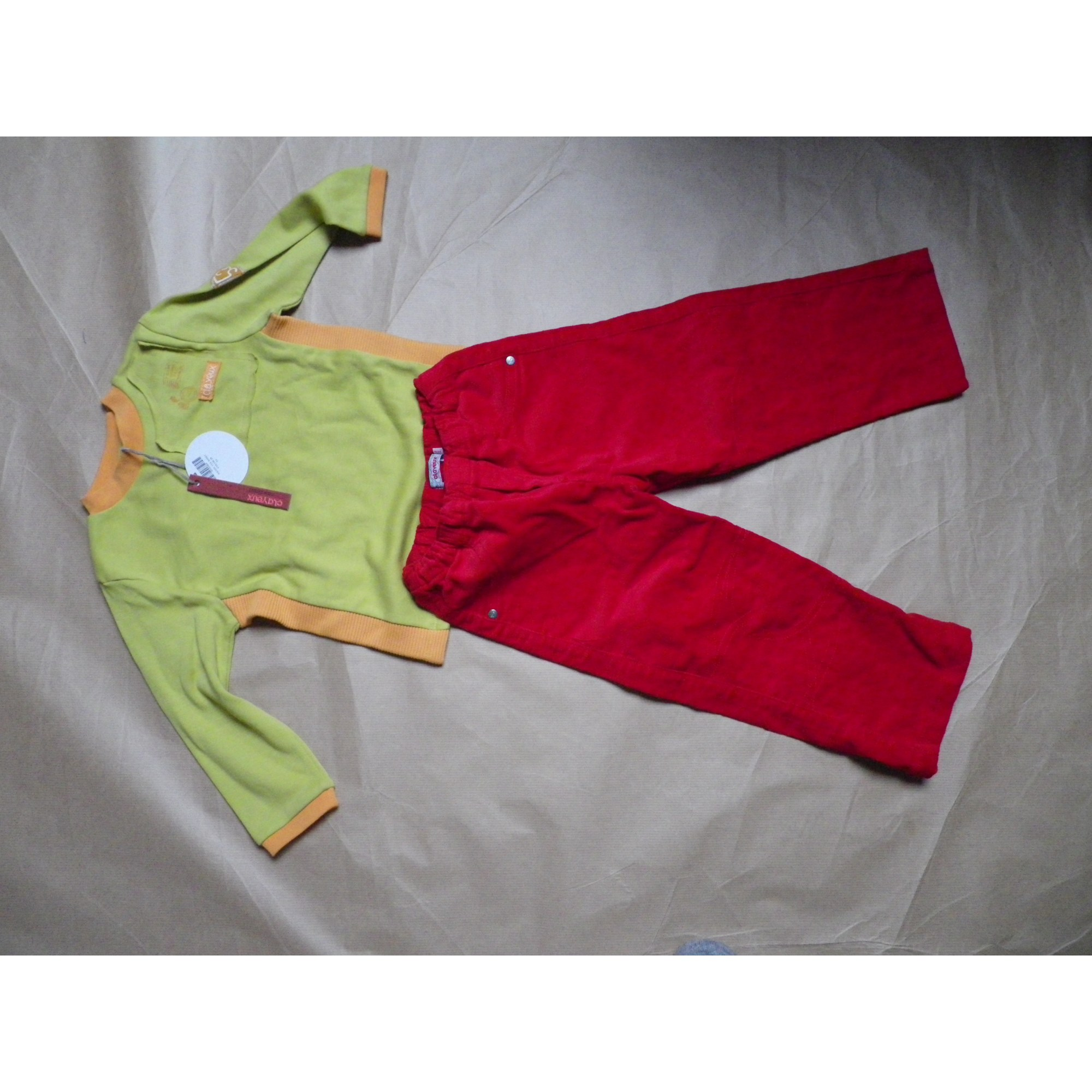 Pants Set, Outfit CLAYEUX Multicolor