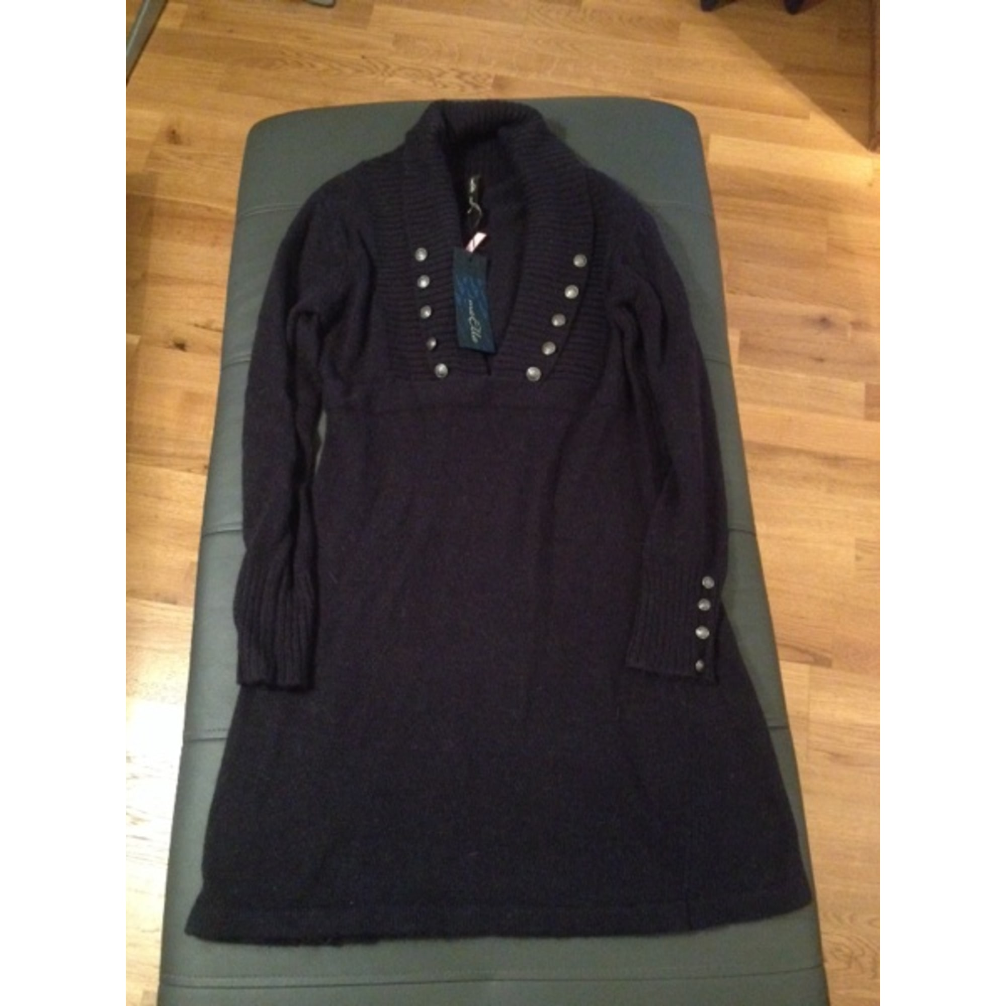 Robe pull MARQUE INCONNUE Bleu, bleu marine, bleu turquoise