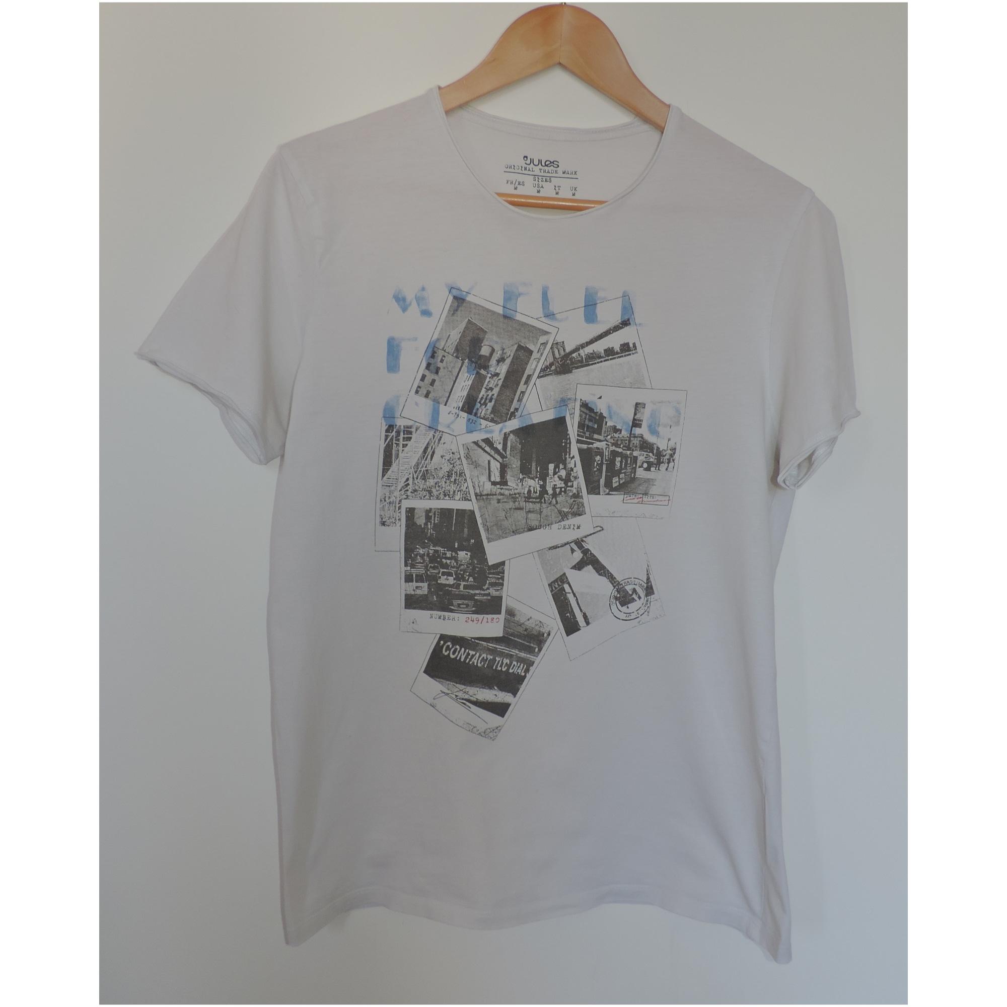 Tee-shirt JULES Blanc, blanc cassé, écru