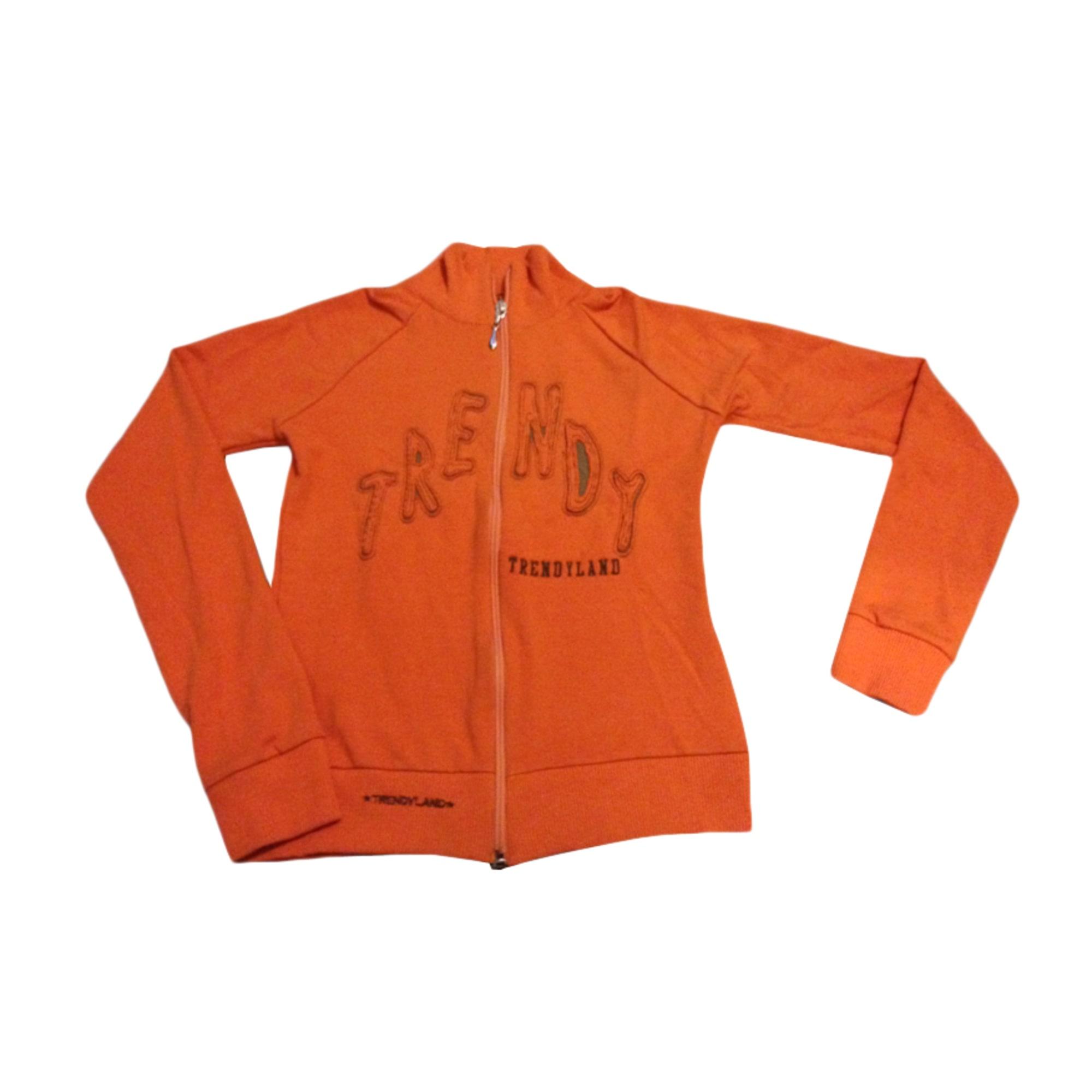 Gilet, cardigan TRENDYLAND Orange
