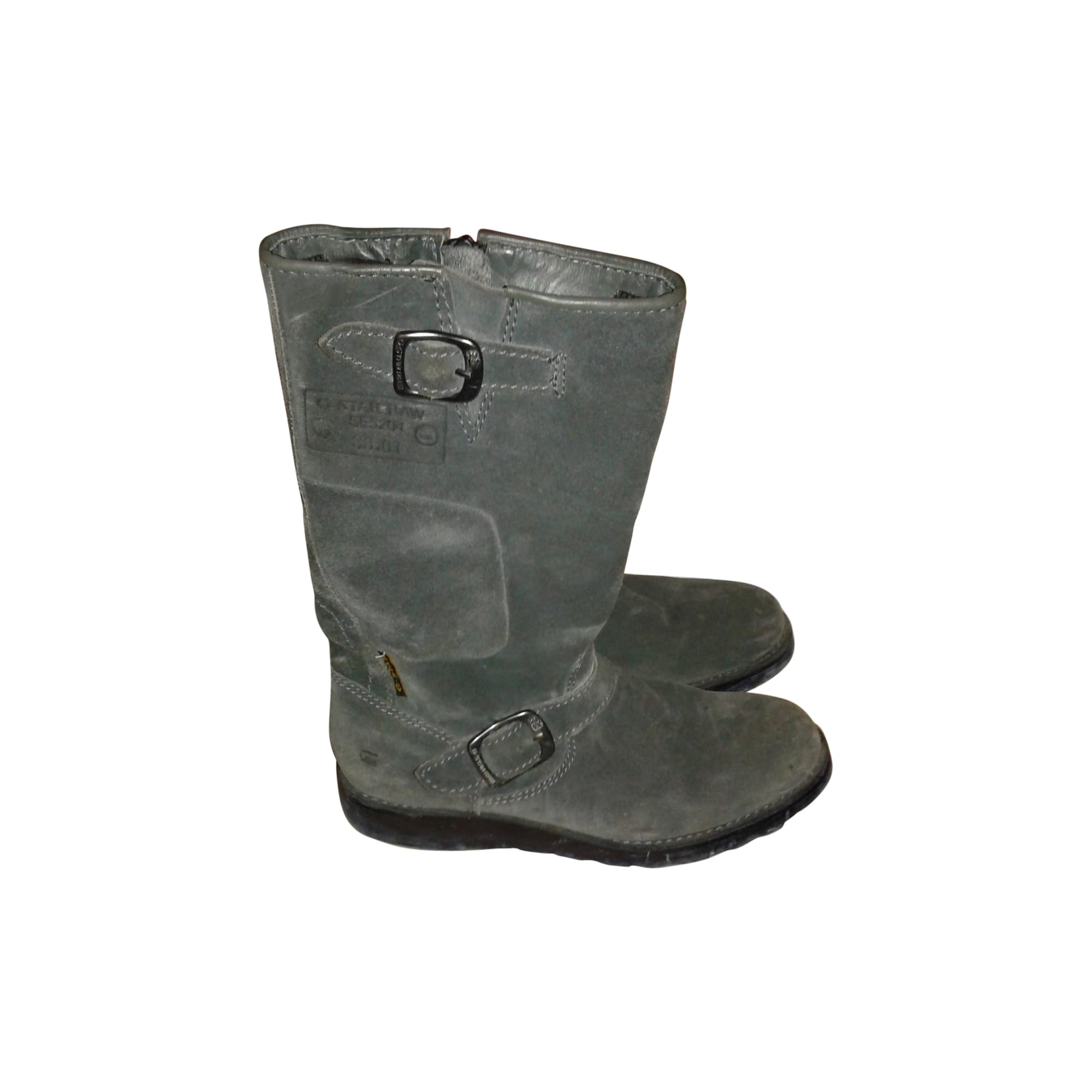 Bottes plates G-STAR Gris, anthracite