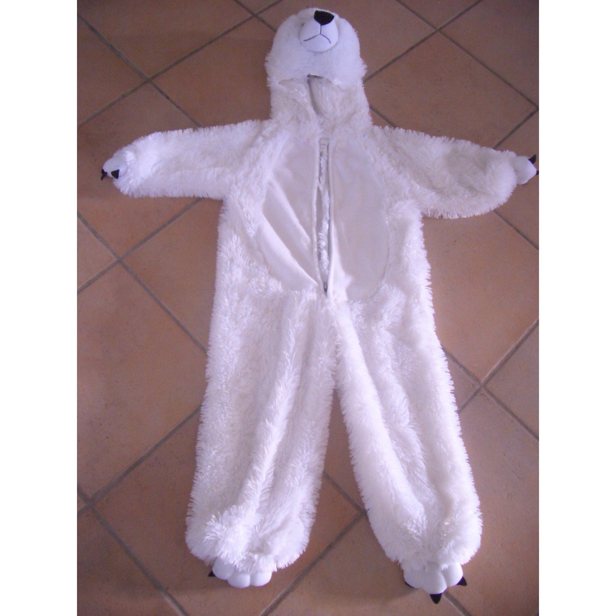 Costume MARQUE INCONNUE White, off-white, ecru