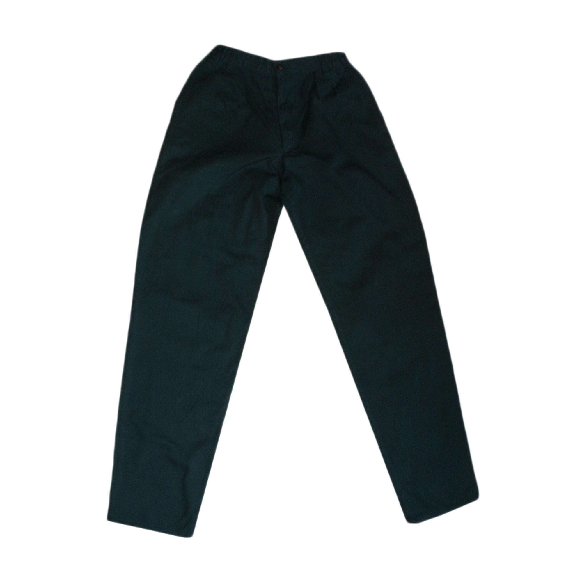 Pantalon carotte MARQUE INCONNUE Vert