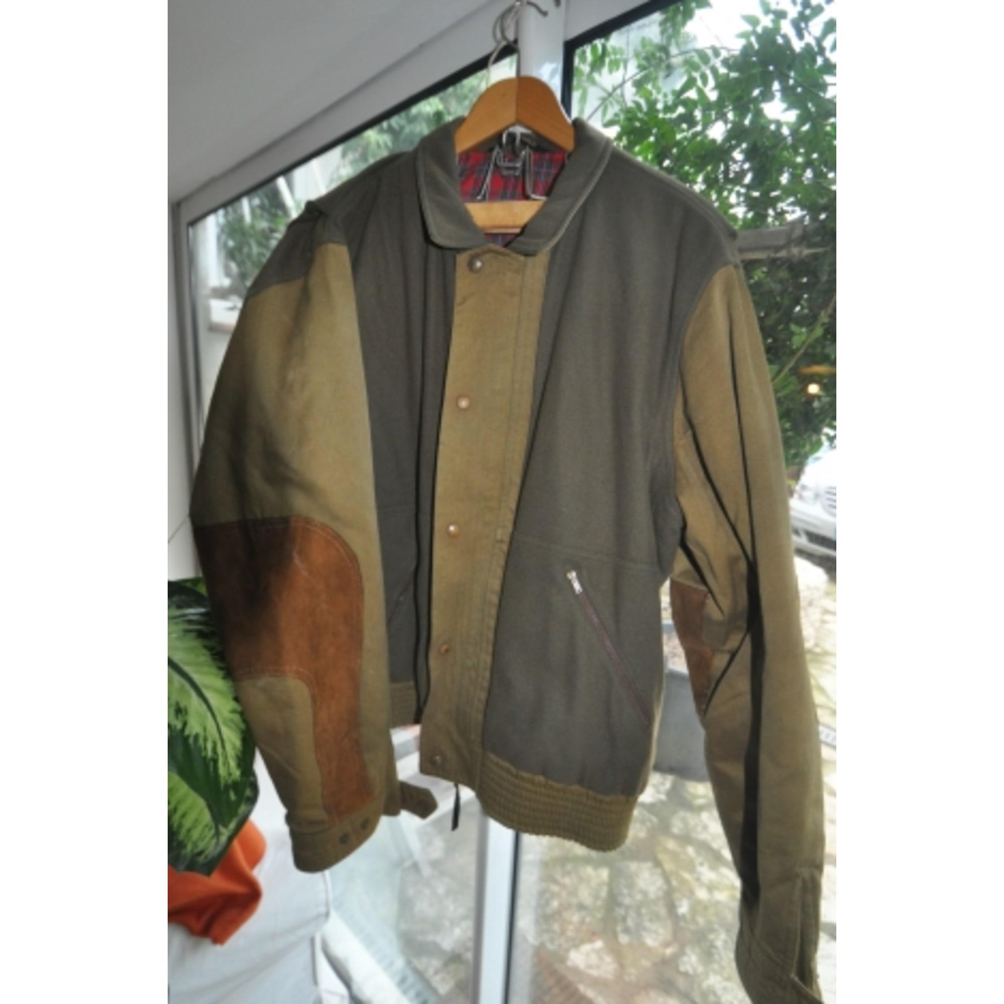 Blouson FAÇONNABLE 58 (XL) vert - 3187924