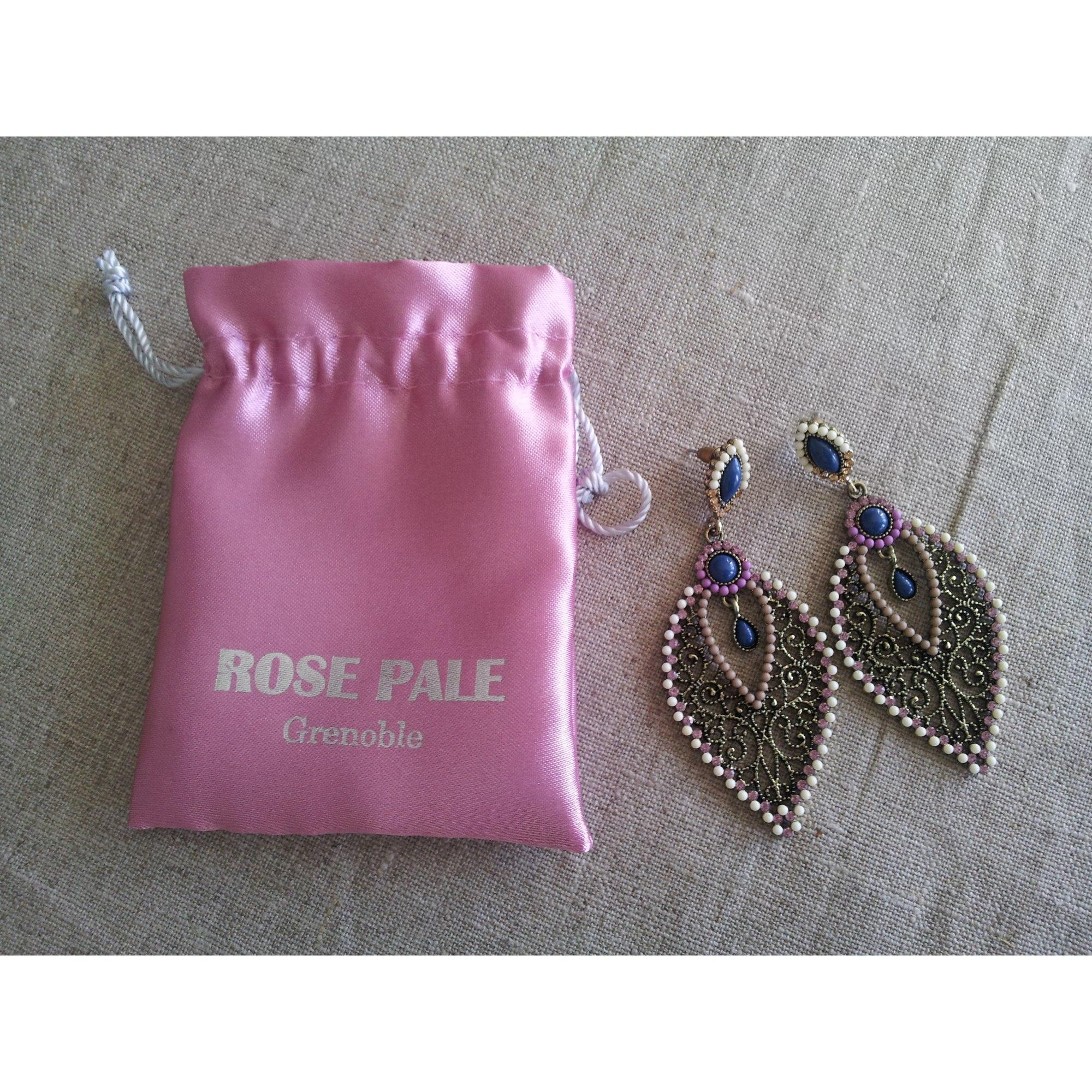 Boucles d'oreille ROSE PÂLE Doré, bronze, cuivre