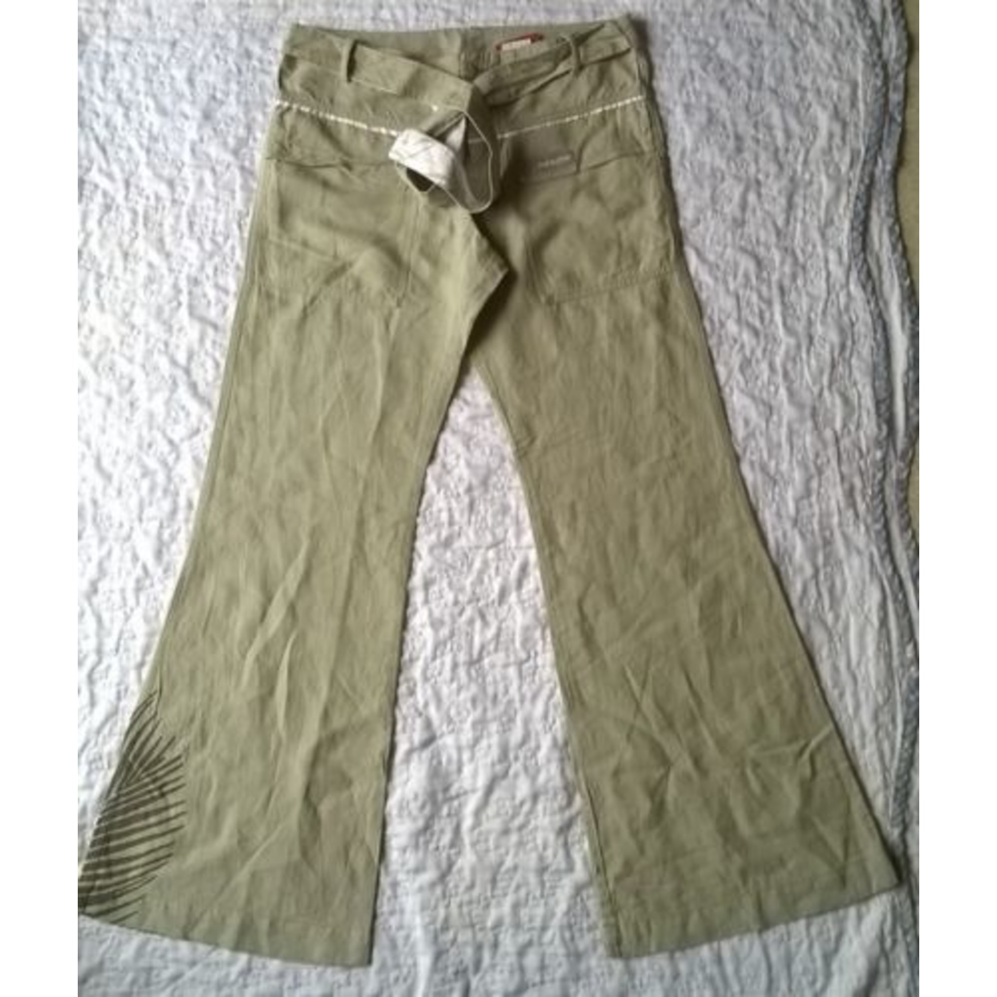 Pantalon OXBOW Beige, camel