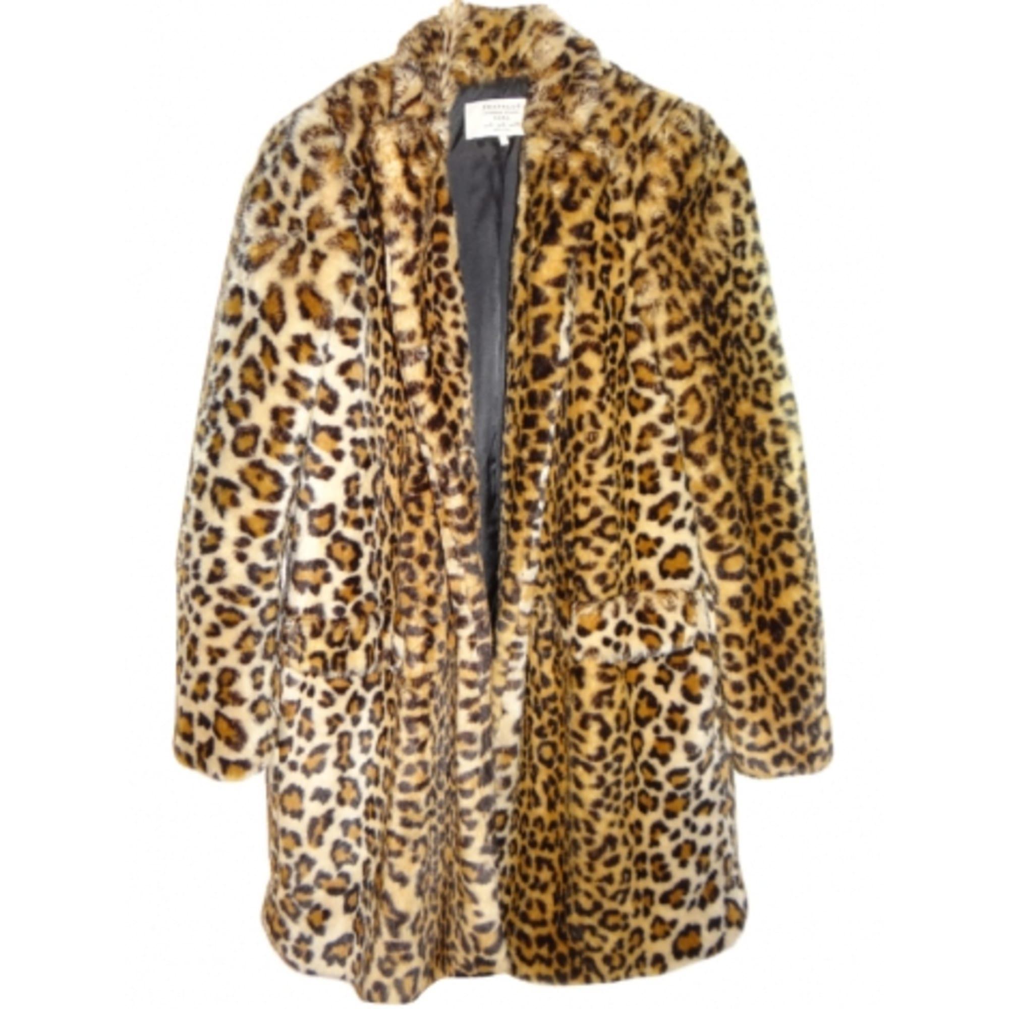 Manteau Leopard Zara d'occasion