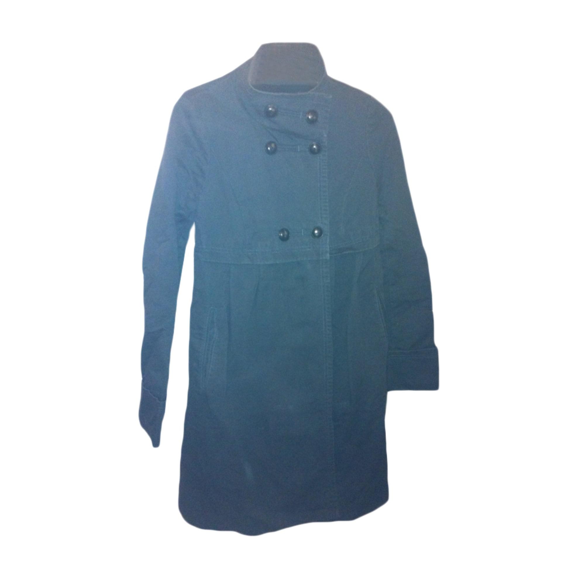 Manteau COMPTOIR DES COTONNIERS Bleu, bleu marine, bleu turquoise