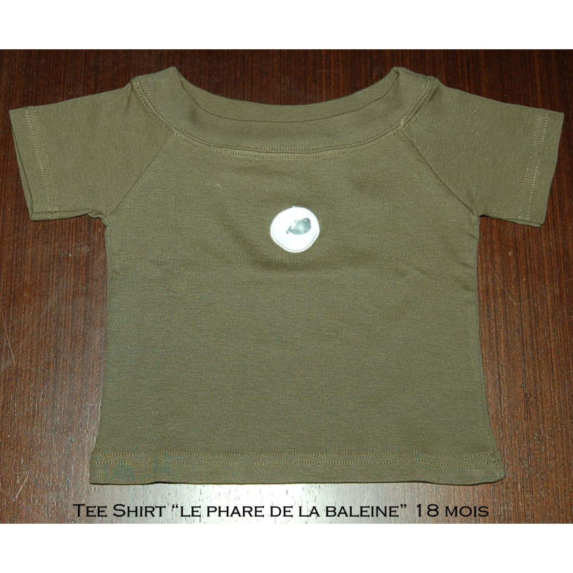 Top, tee shirt LE PHARE DE LA BALEINE Kaki