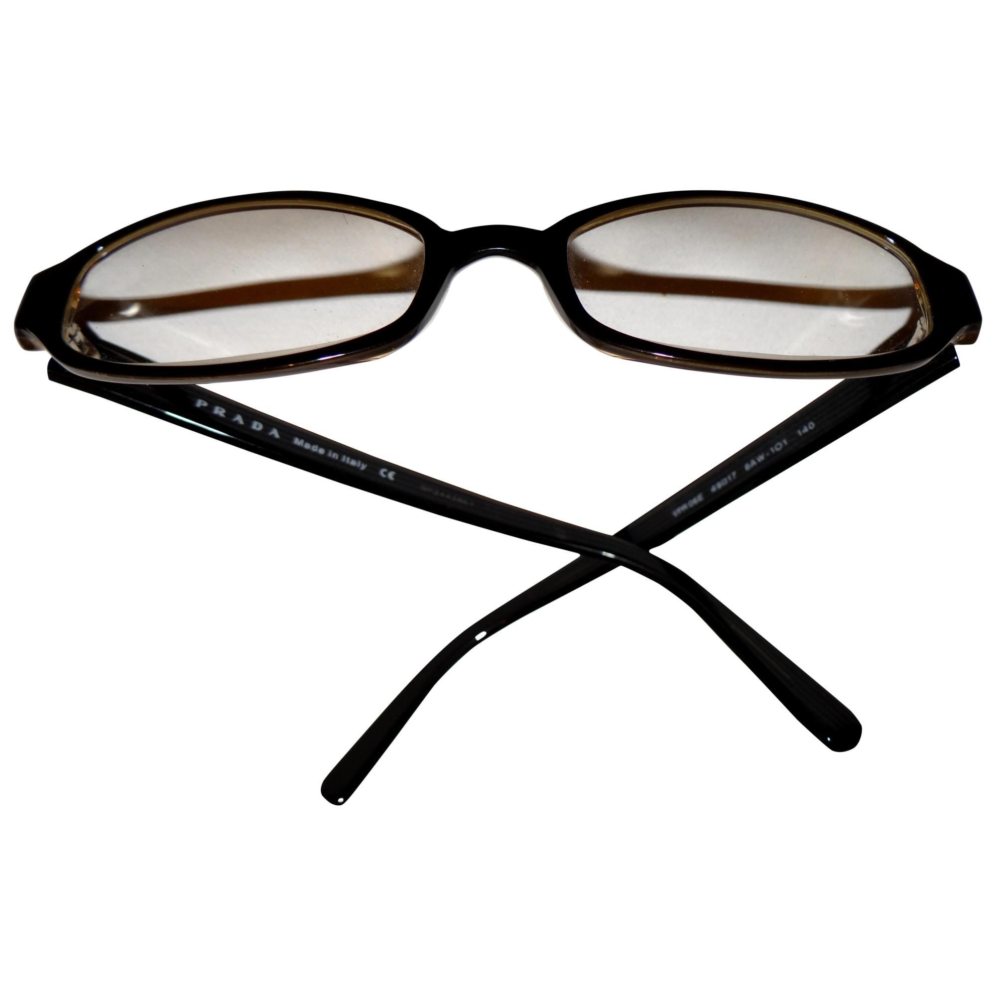 Monture de lunettes PRADA Noir