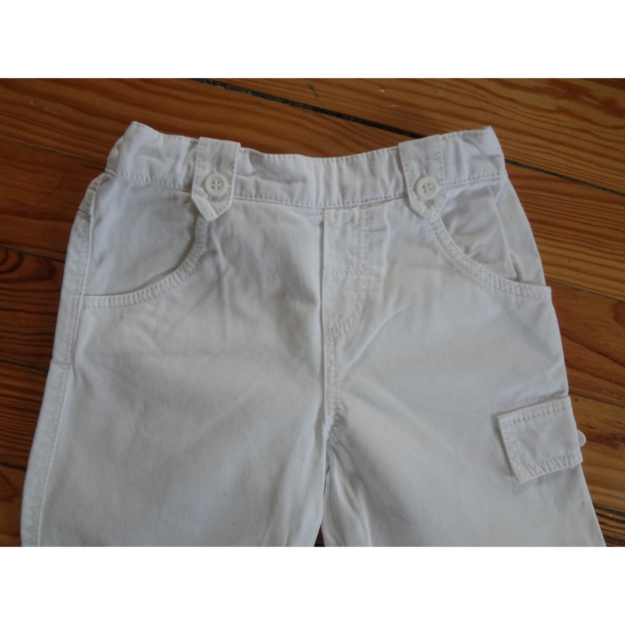 Pantalon TARTINE ET CHOCOLAT Blanc, blanc cassé, écru