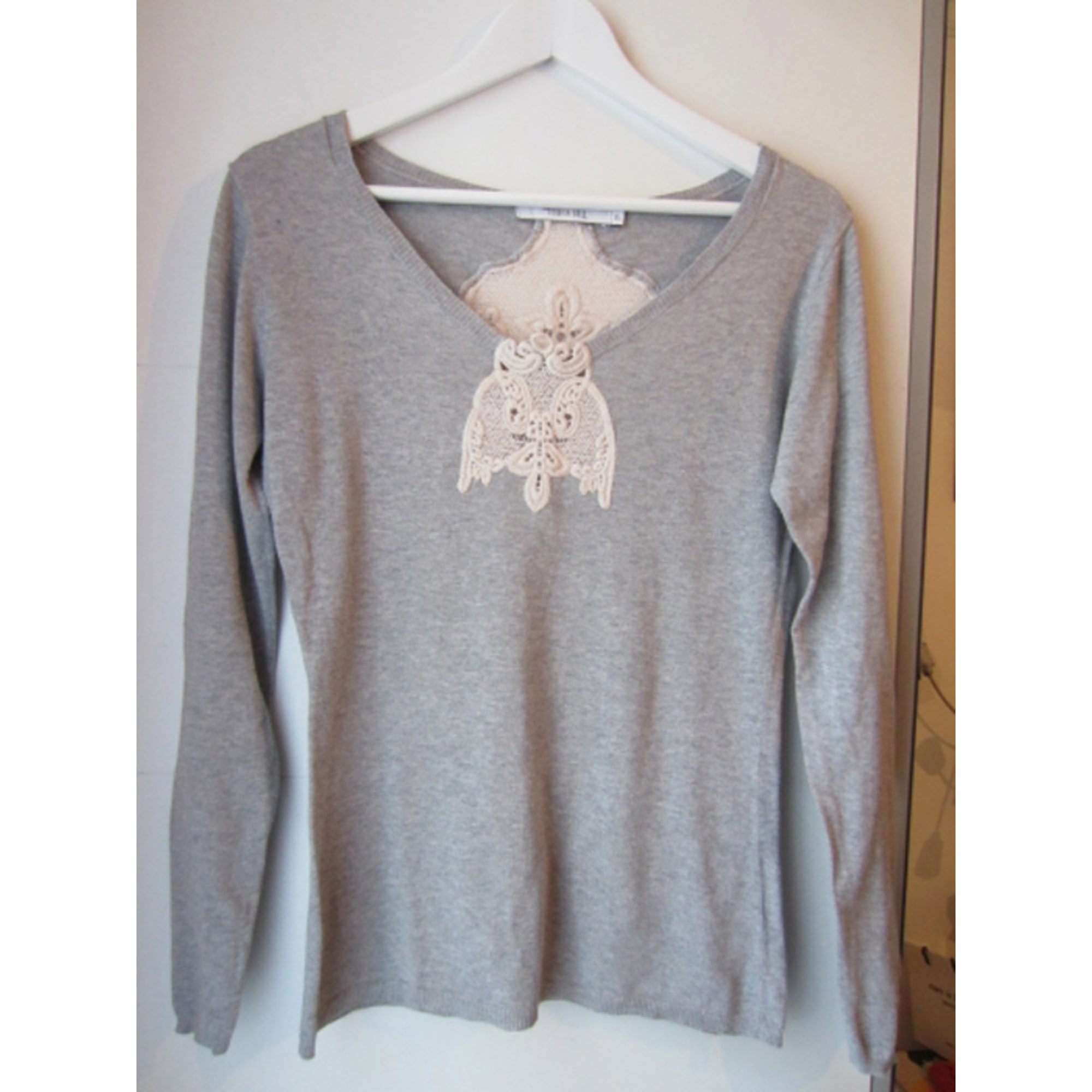 Pull TEQUILA SOLO Gris, anthracite