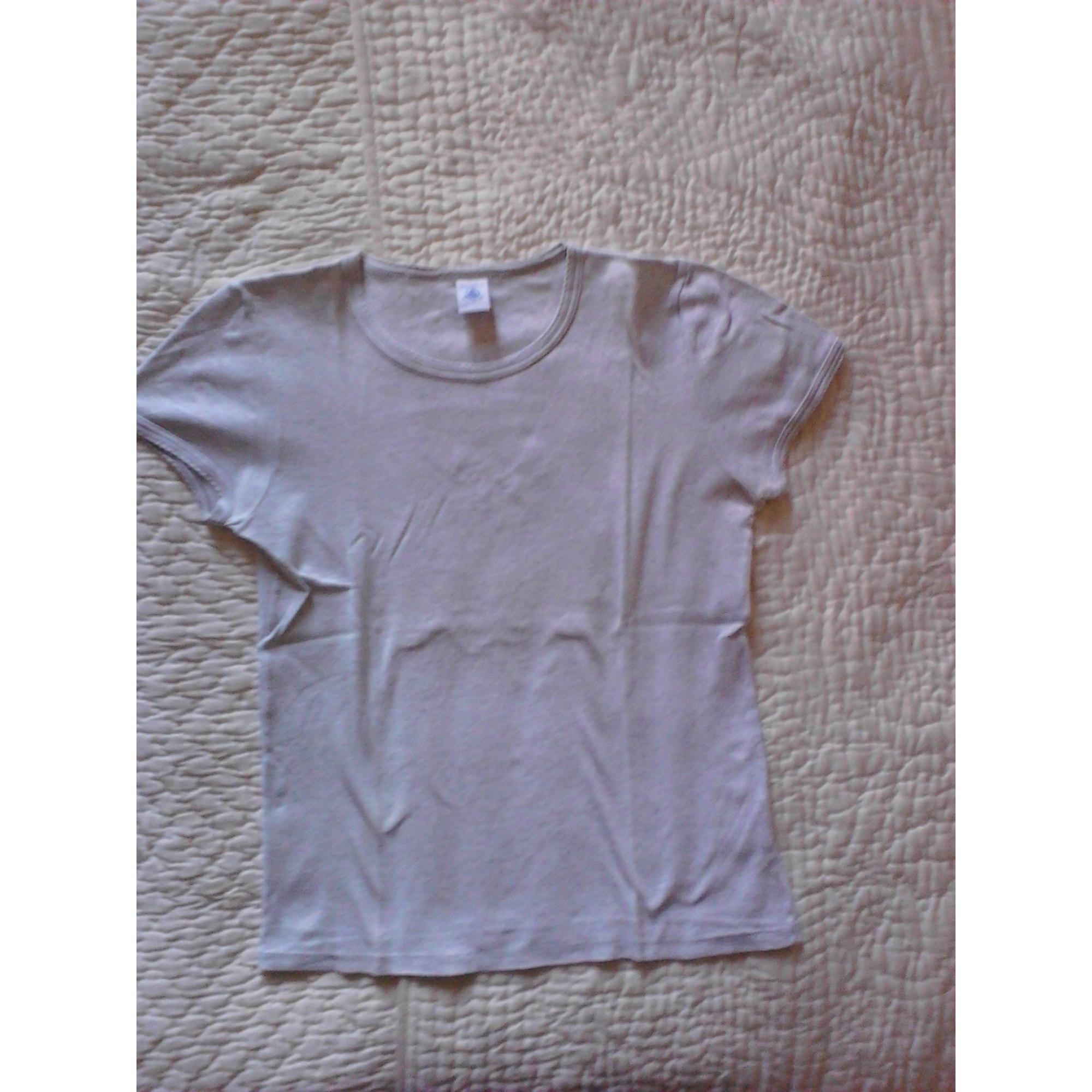 Top, Tee-shirt PETIT BATEAU Gris, anthracite