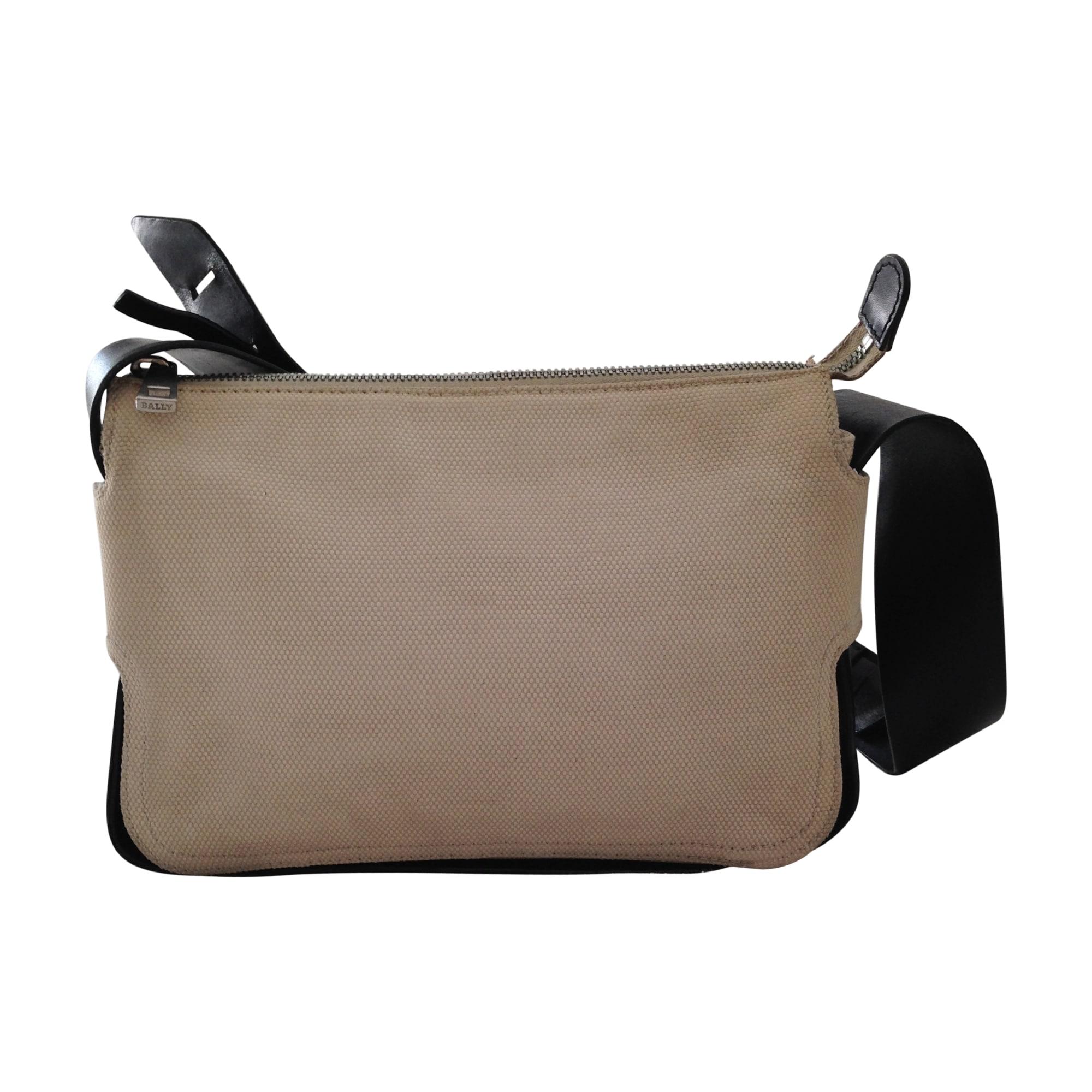 Lederhandtasche BALLY Beige