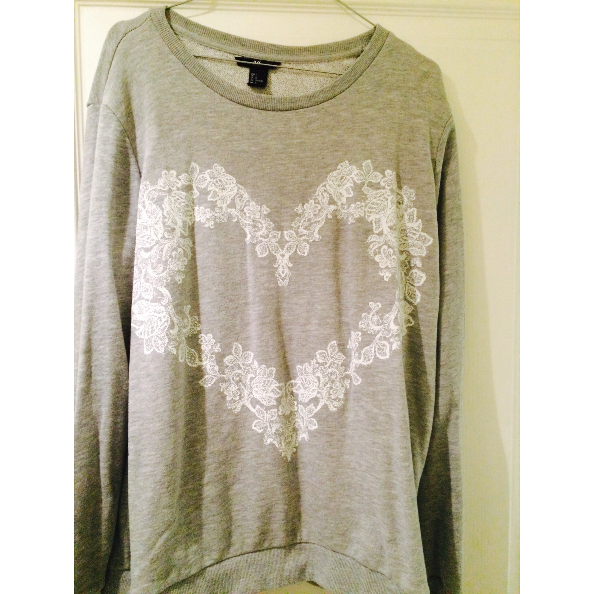 Sweat H&M Gris, anthracite