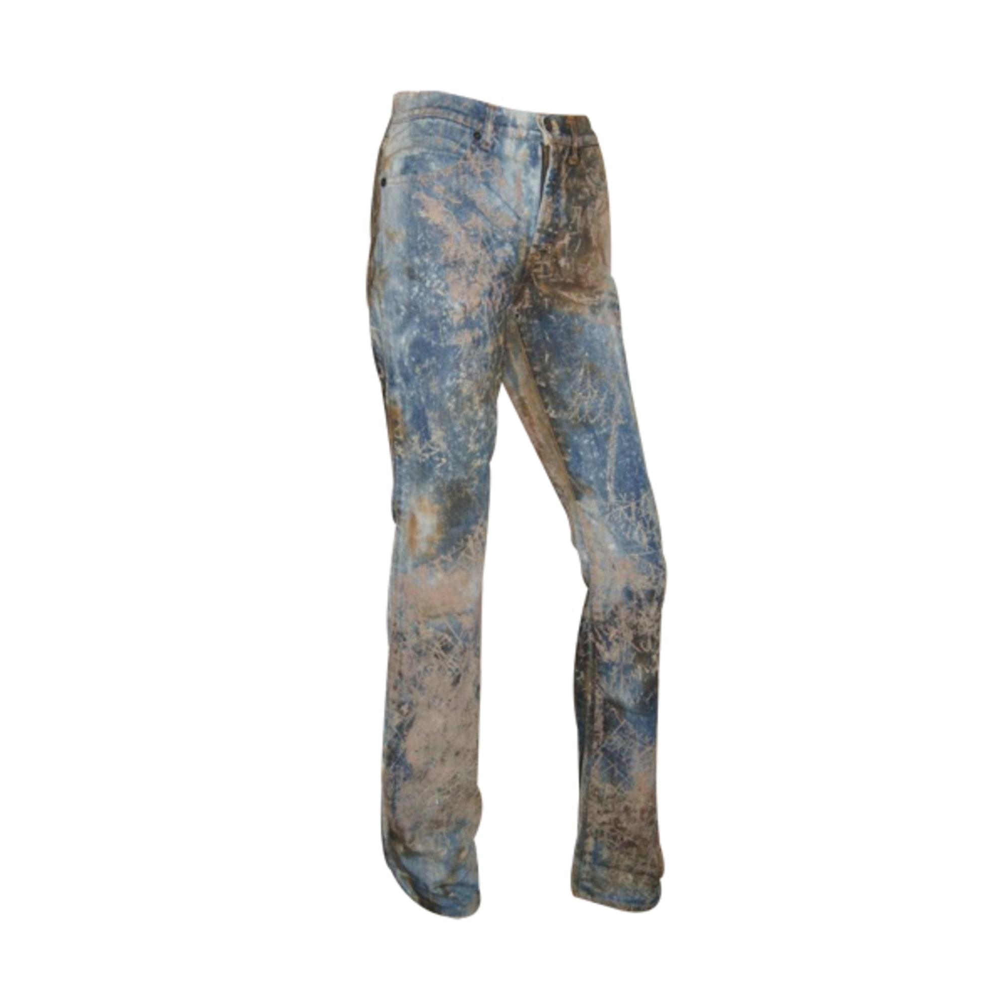 Jeans droit GIANFRANCO FERRE Multicouleur