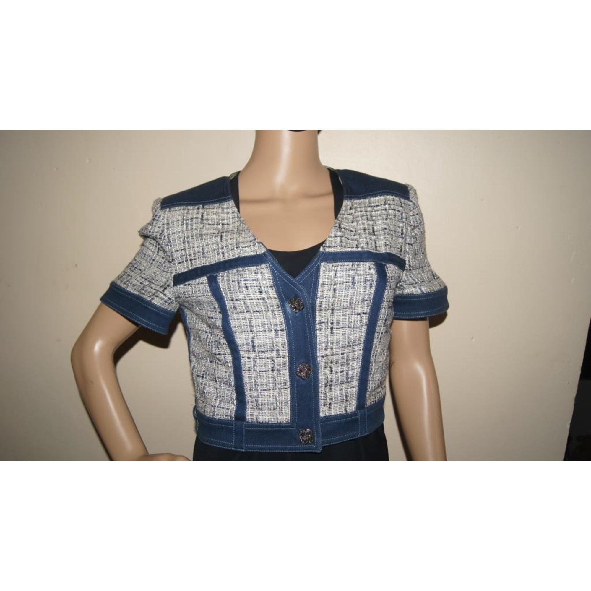 Blazer, veste tailleur JIKI MONTE CARLO Bleu, bleu marine, bleu turquoise