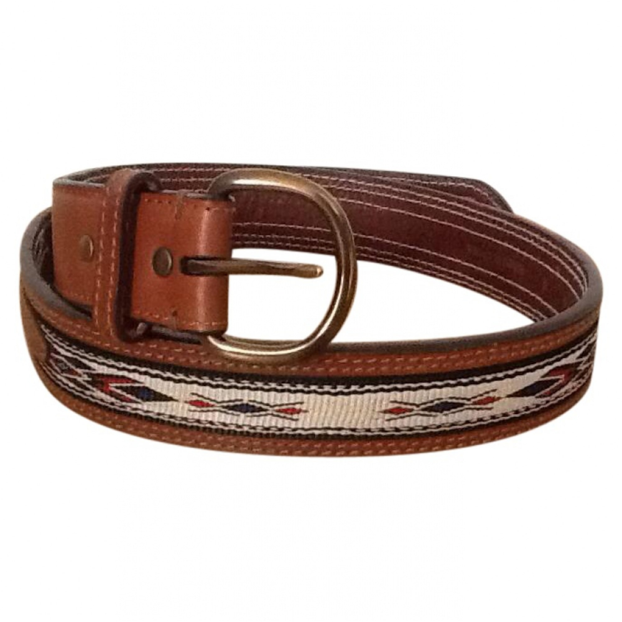 Ceinture large CLUB MONACO Marron