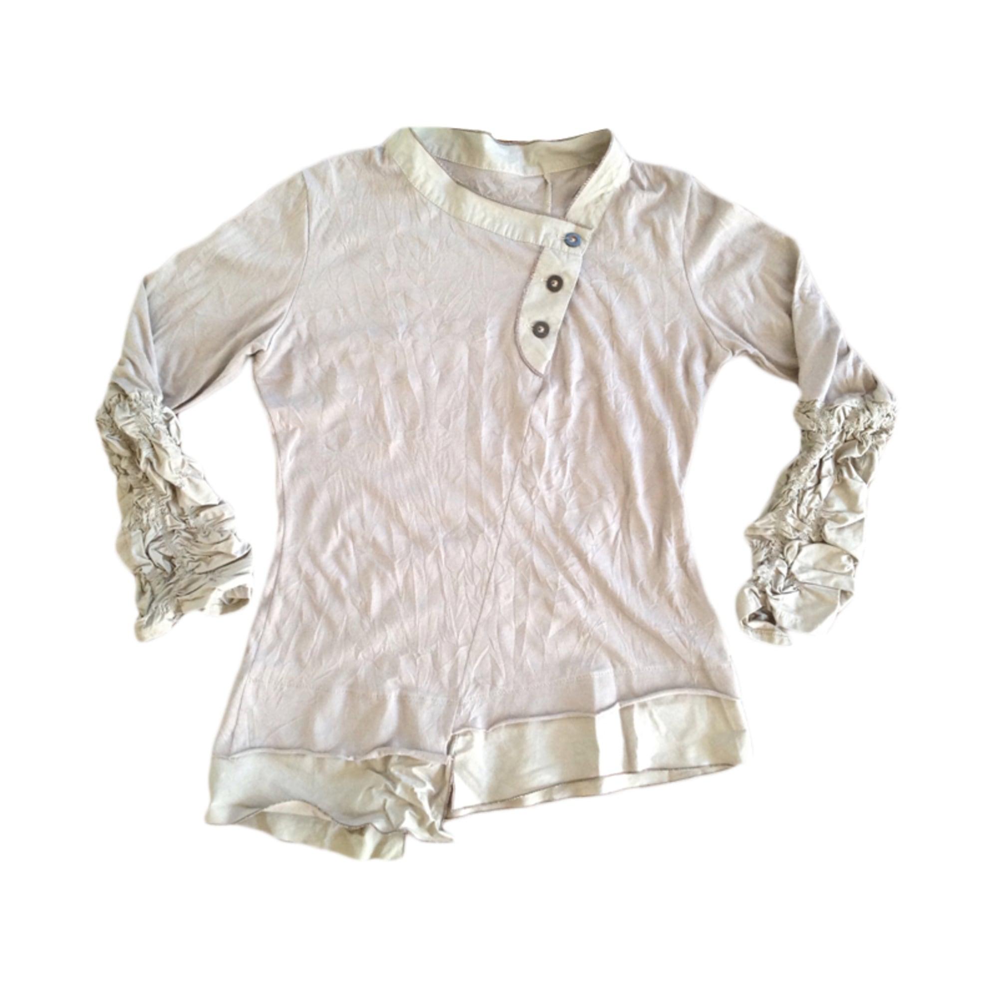 Top, tee-shirt 2026 Beige, camel