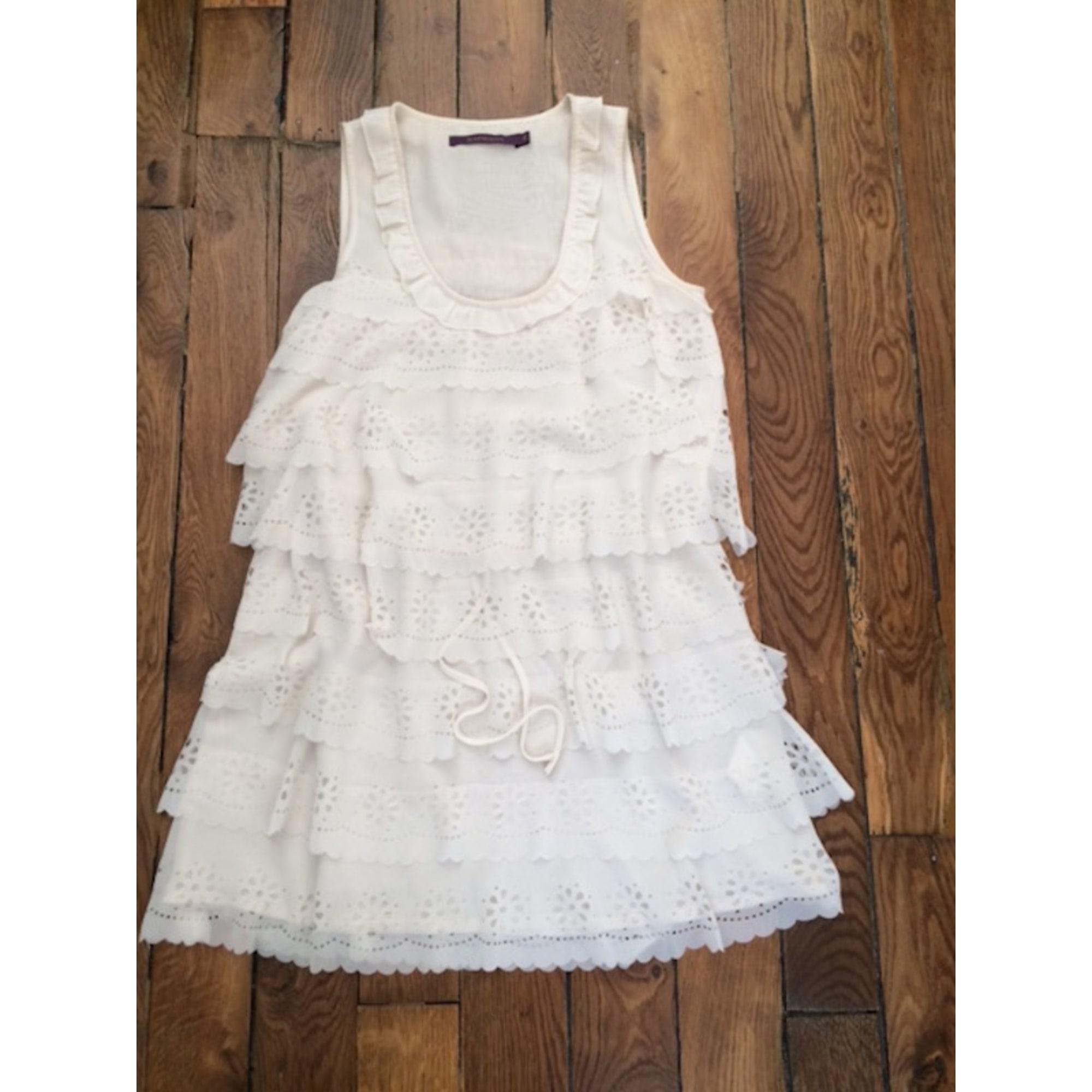 Robe courte RAPSODIA Blanc, blanc cassé, écru