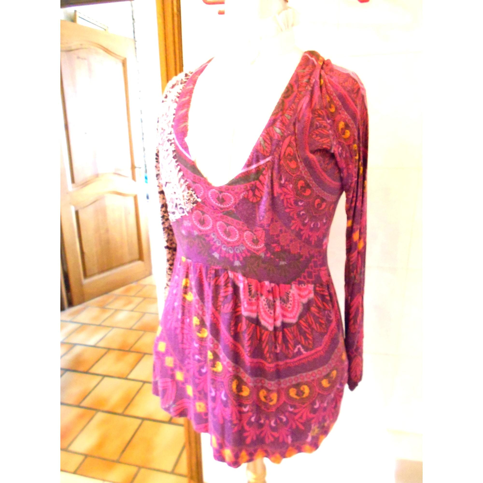 Robe courte DESIGUAL Violet, mauve, lavande
