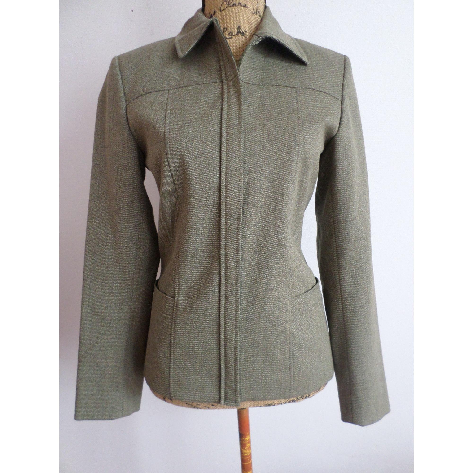 Blazer, veste tailleur CAROLL Vert