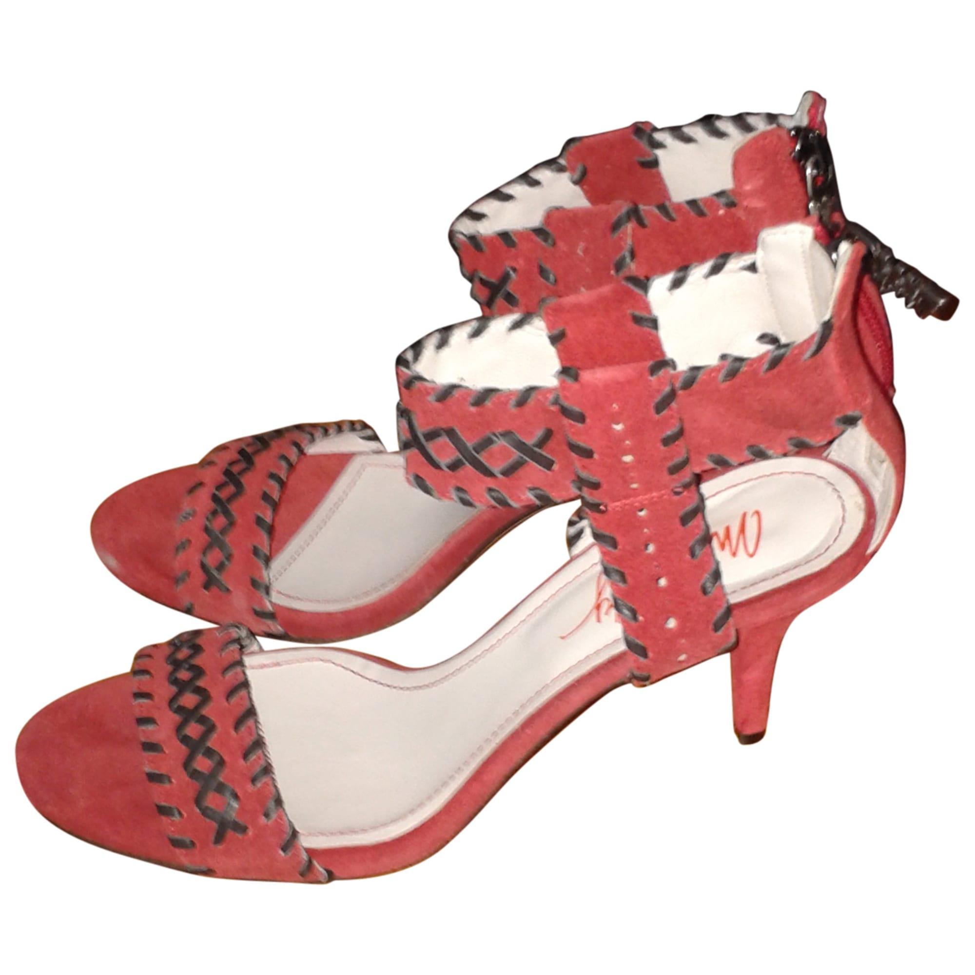 Sandales à talons MISS SIXTY Rouge, bordeaux