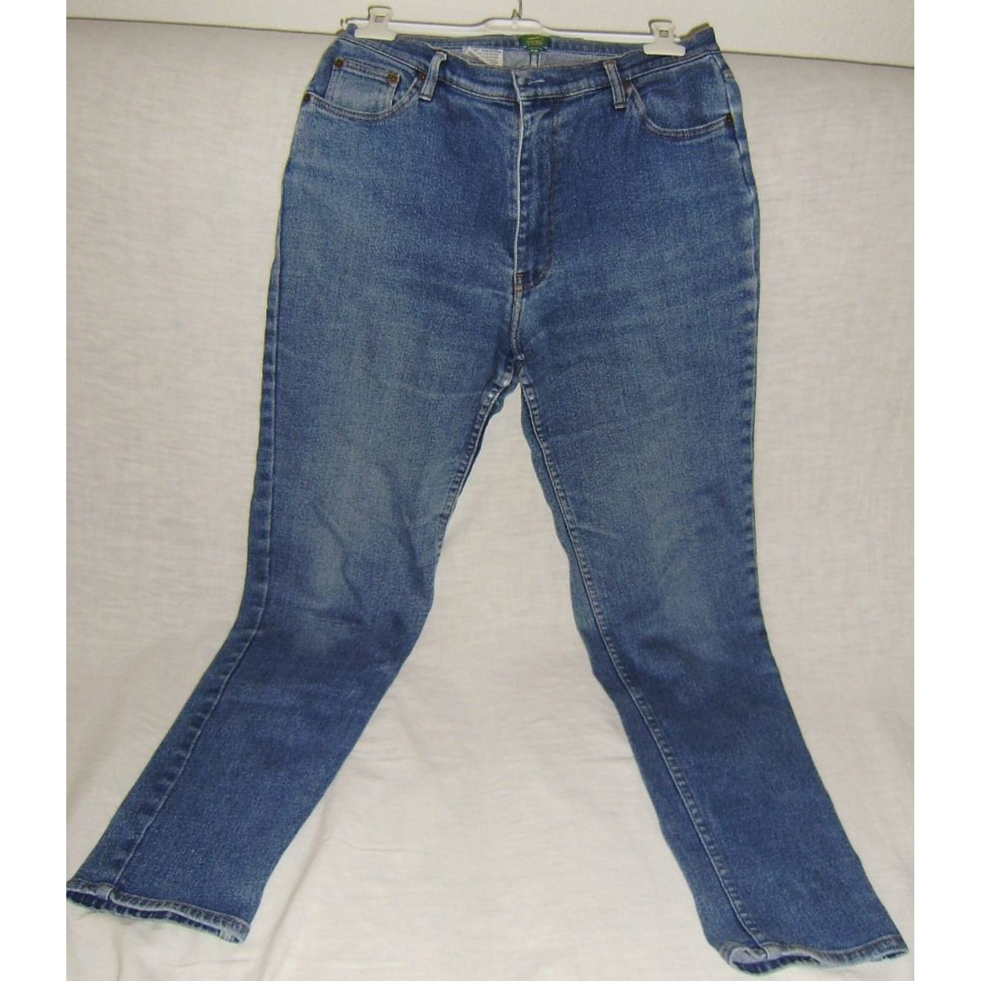 Jeans droit REPUBLIC AVIATION Bleu, bleu marine, bleu turquoise