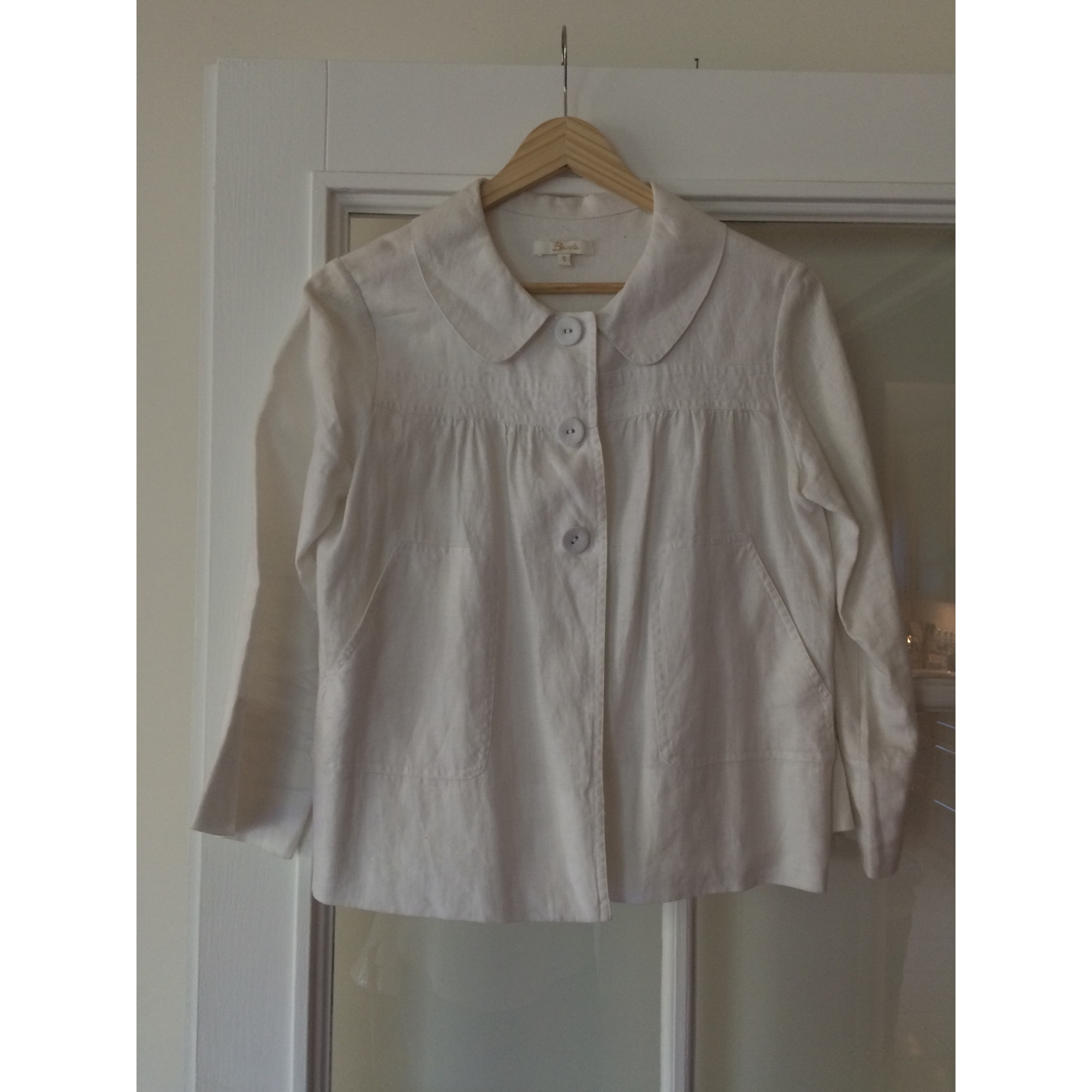 Veste BISCOTE Blanc, blanc cassé, écru