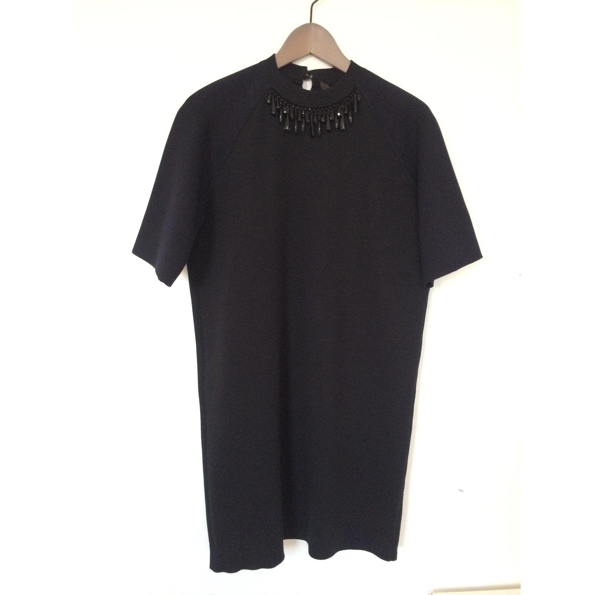Robe tunique LOUIS VUITTON Noir/bleu