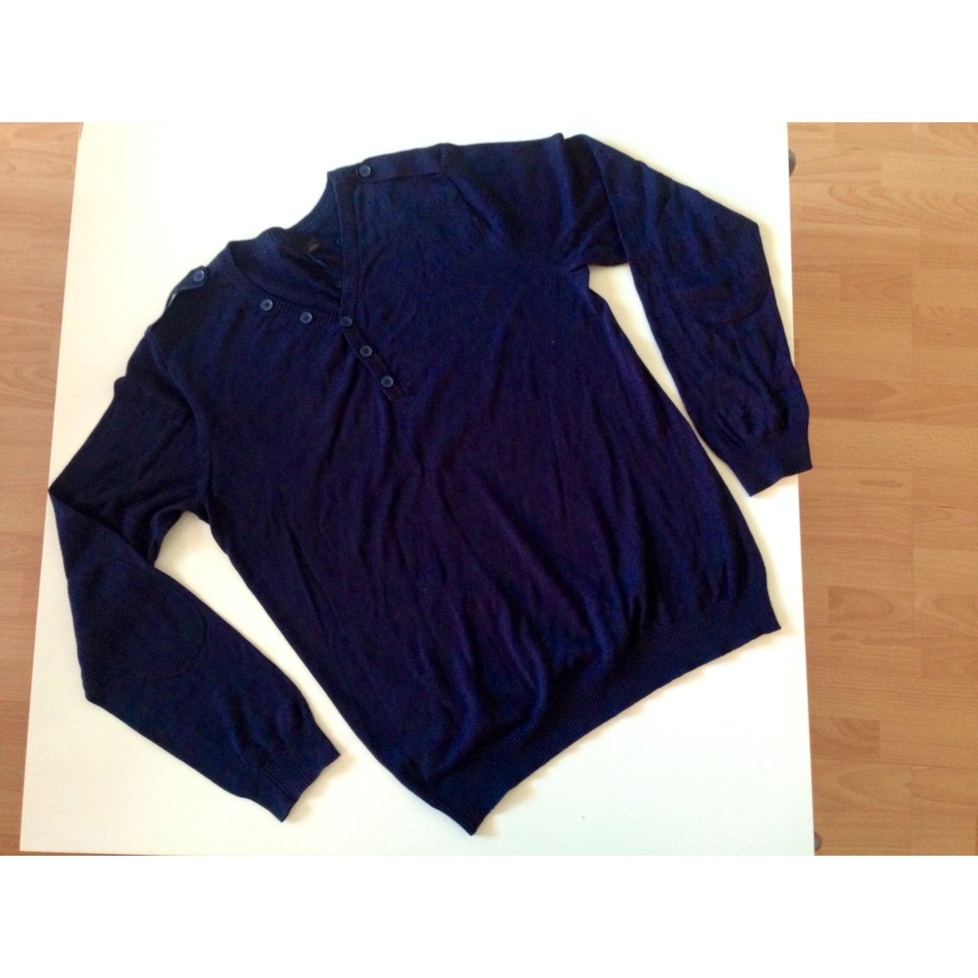 Pull H&M Bleu, bleu marine, bleu turquoise