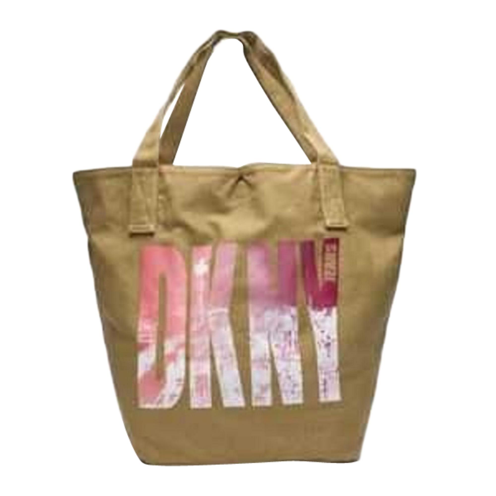 Sac XL en tissu DKNY Beige, camel
