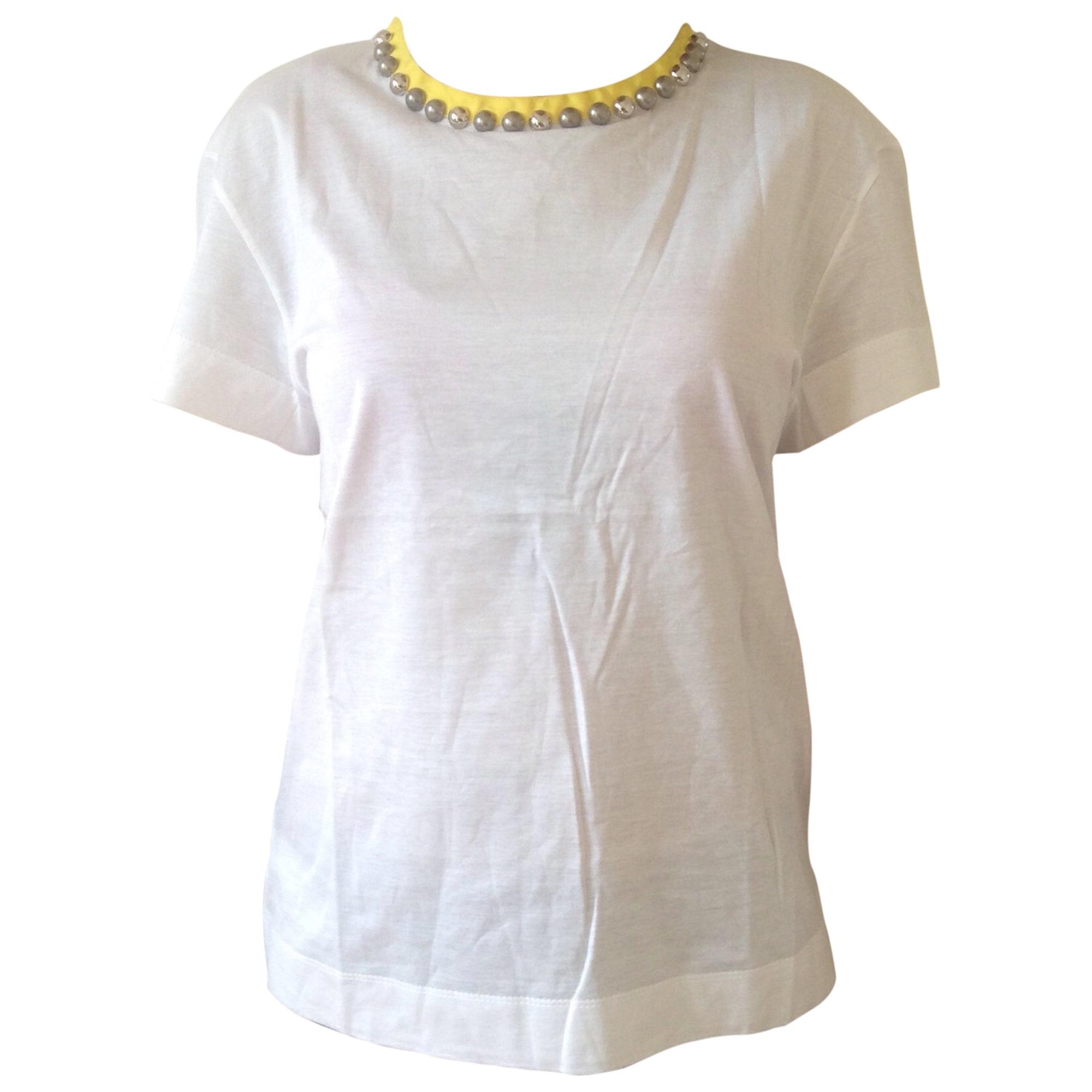 Top, tee-shirt LOUIS VUITTON Blanc, blanc cassé, écru