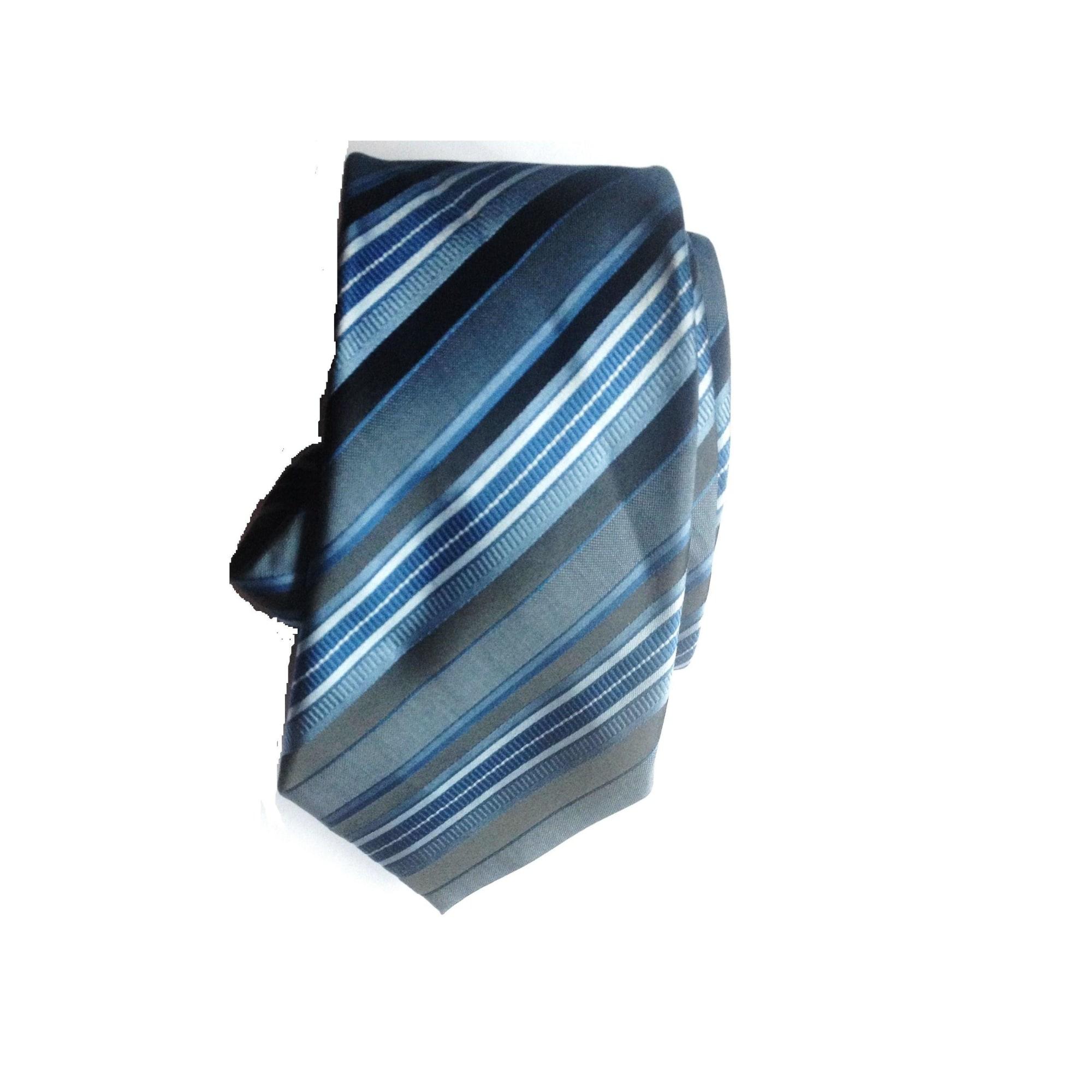 Cravate BRICE bleu foncé