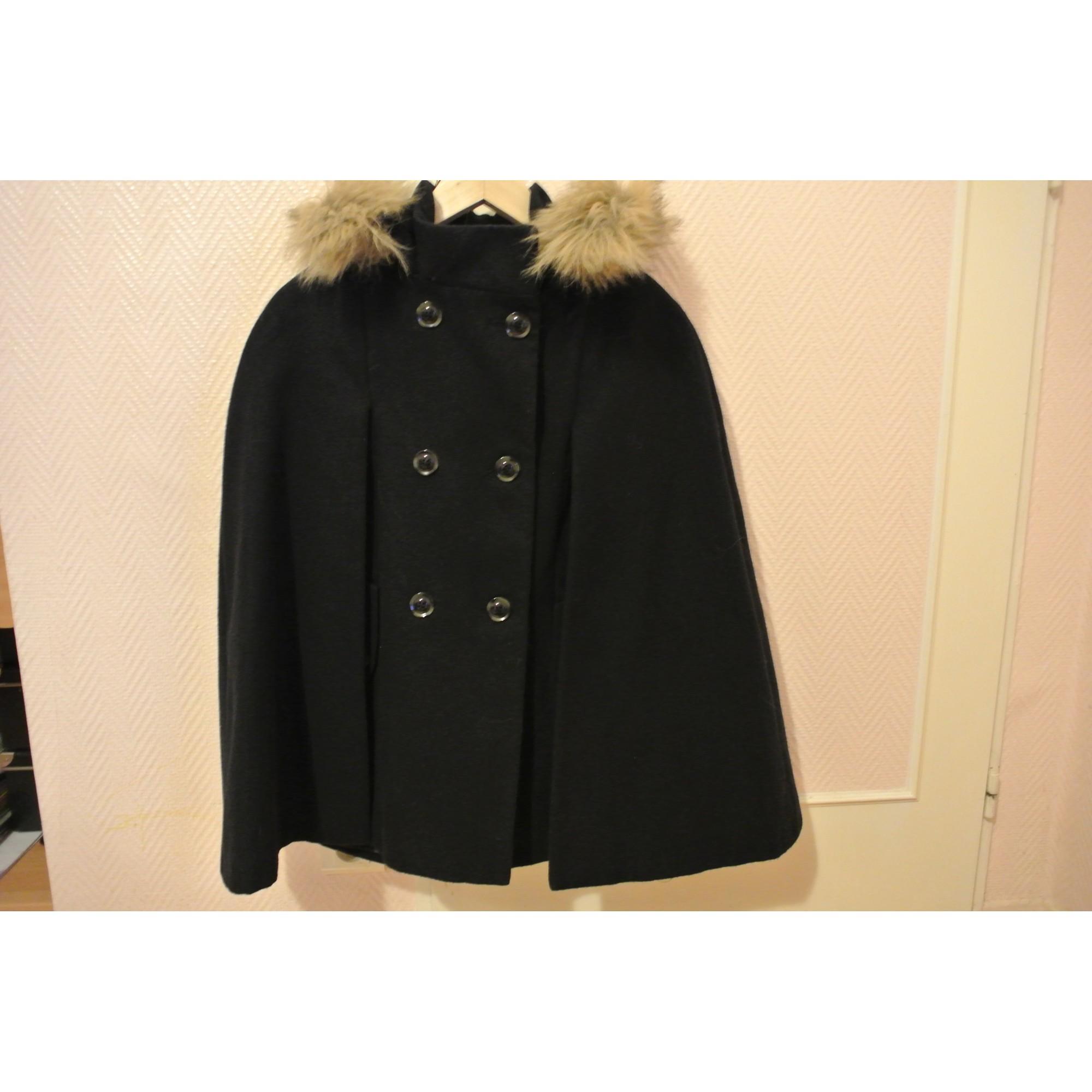 manteau cape femme camaieu