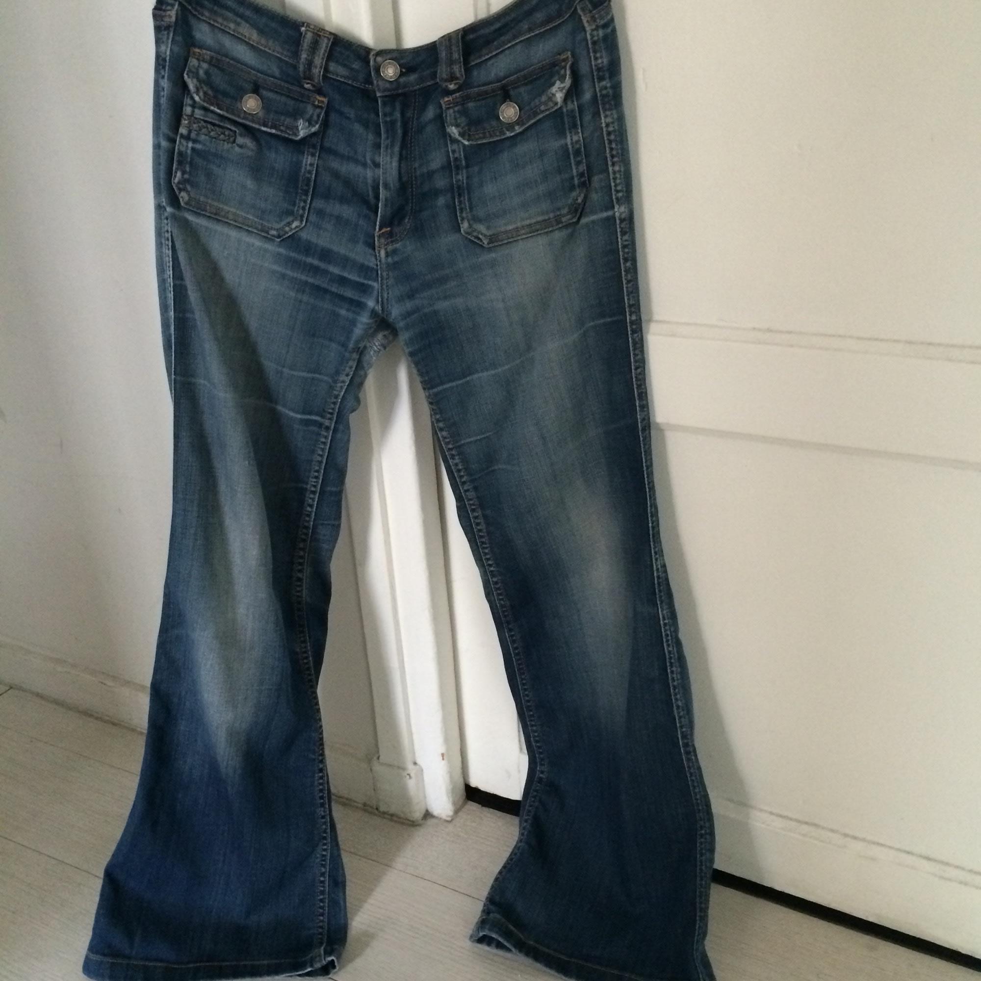 Jeans évasé, boot-cut LE TEMPS DES CERISES Bleu, bleu marine, bleu turquoise