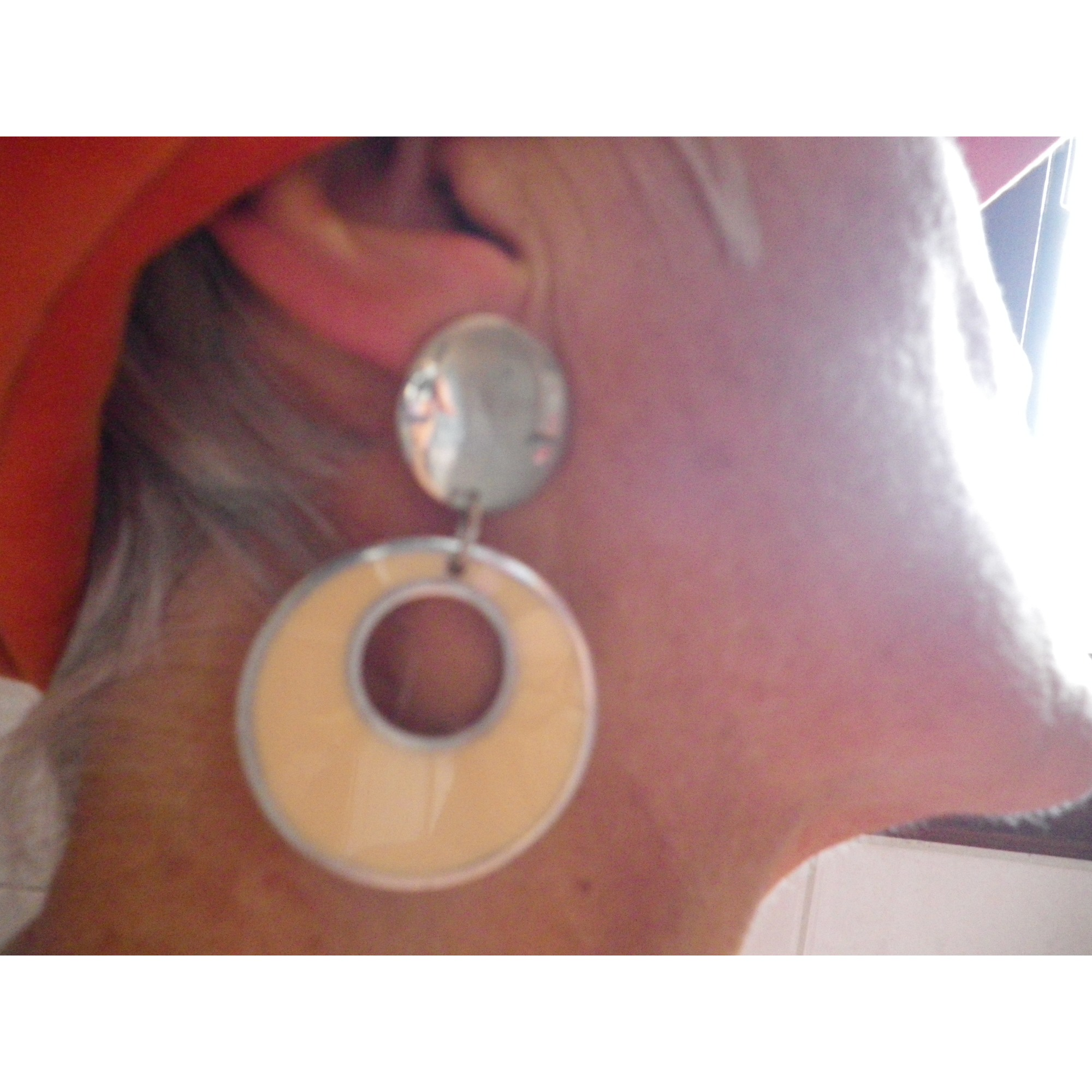 Boucles d'oreille LA TRIBU RIGAUX Multicouleur
