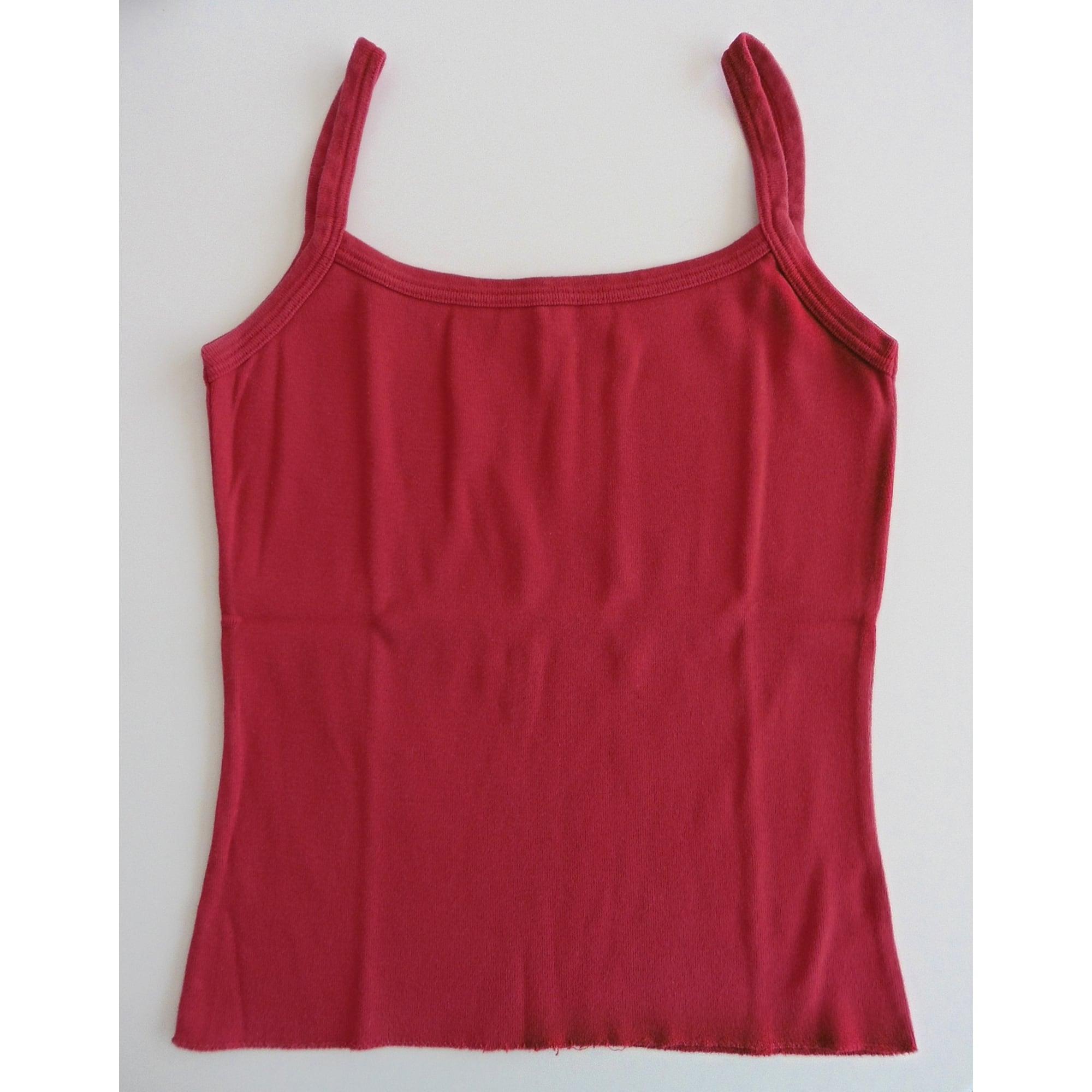 Top, tee-shirt PROMOD Rouge, bordeaux
