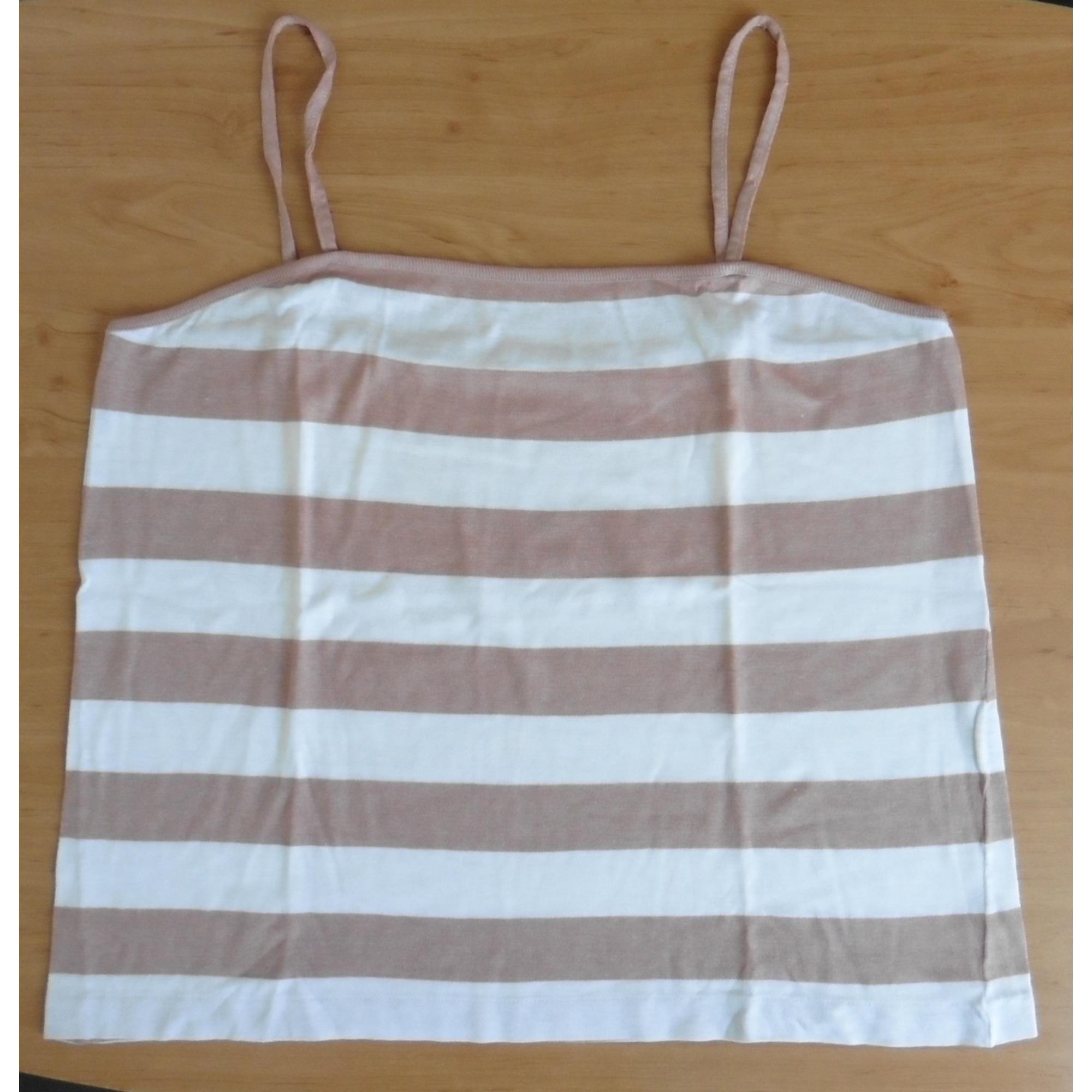 Top, tee-shirt CHEWITT Marron
