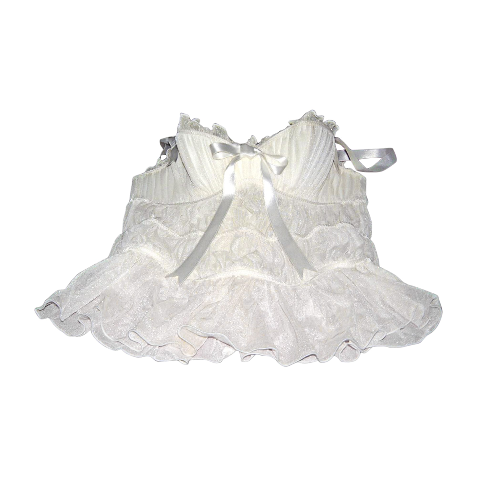 Bustier CHANTAL THOMASS Blanc, blanc cassé, écru