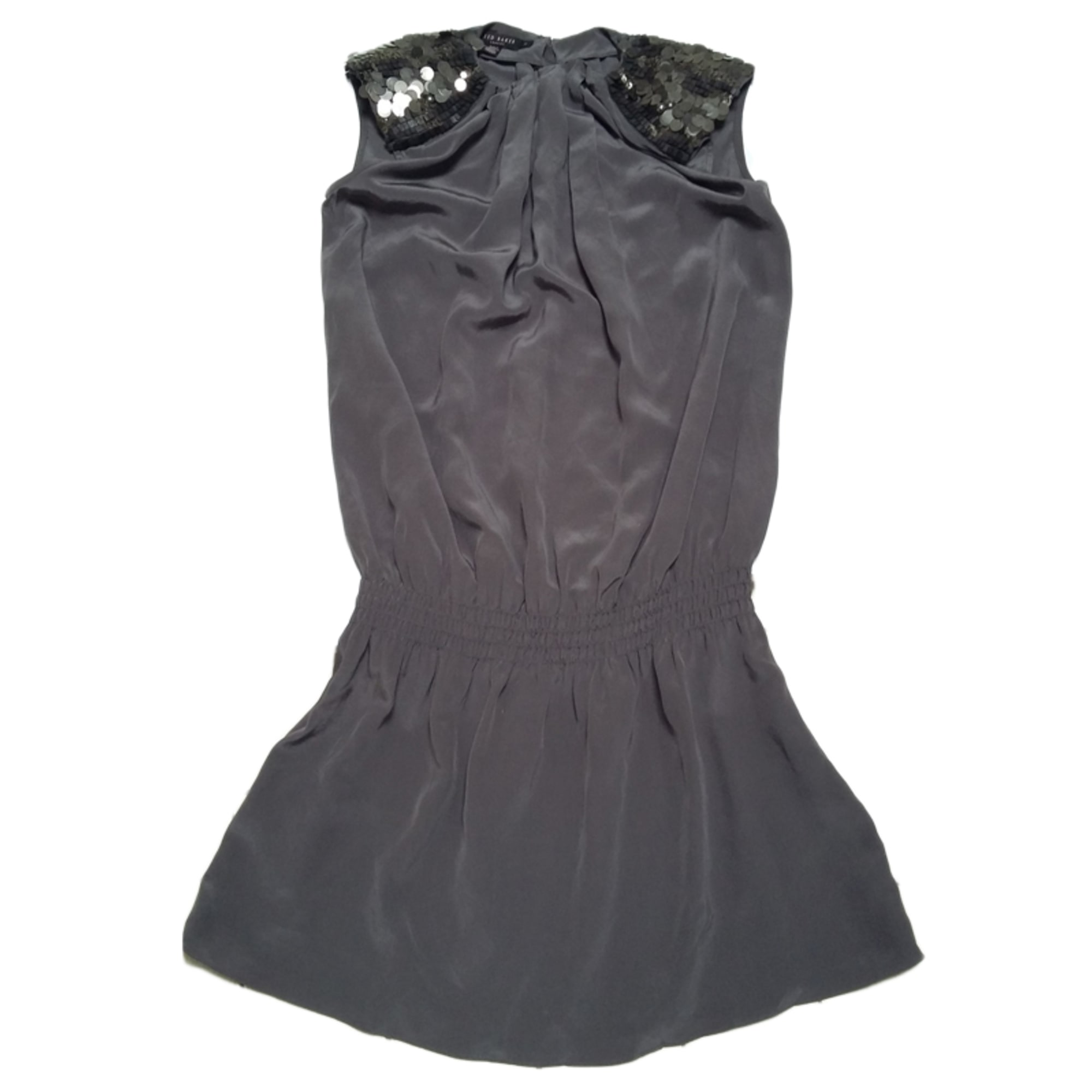 Robe courte TED BAKER Gris, anthracite