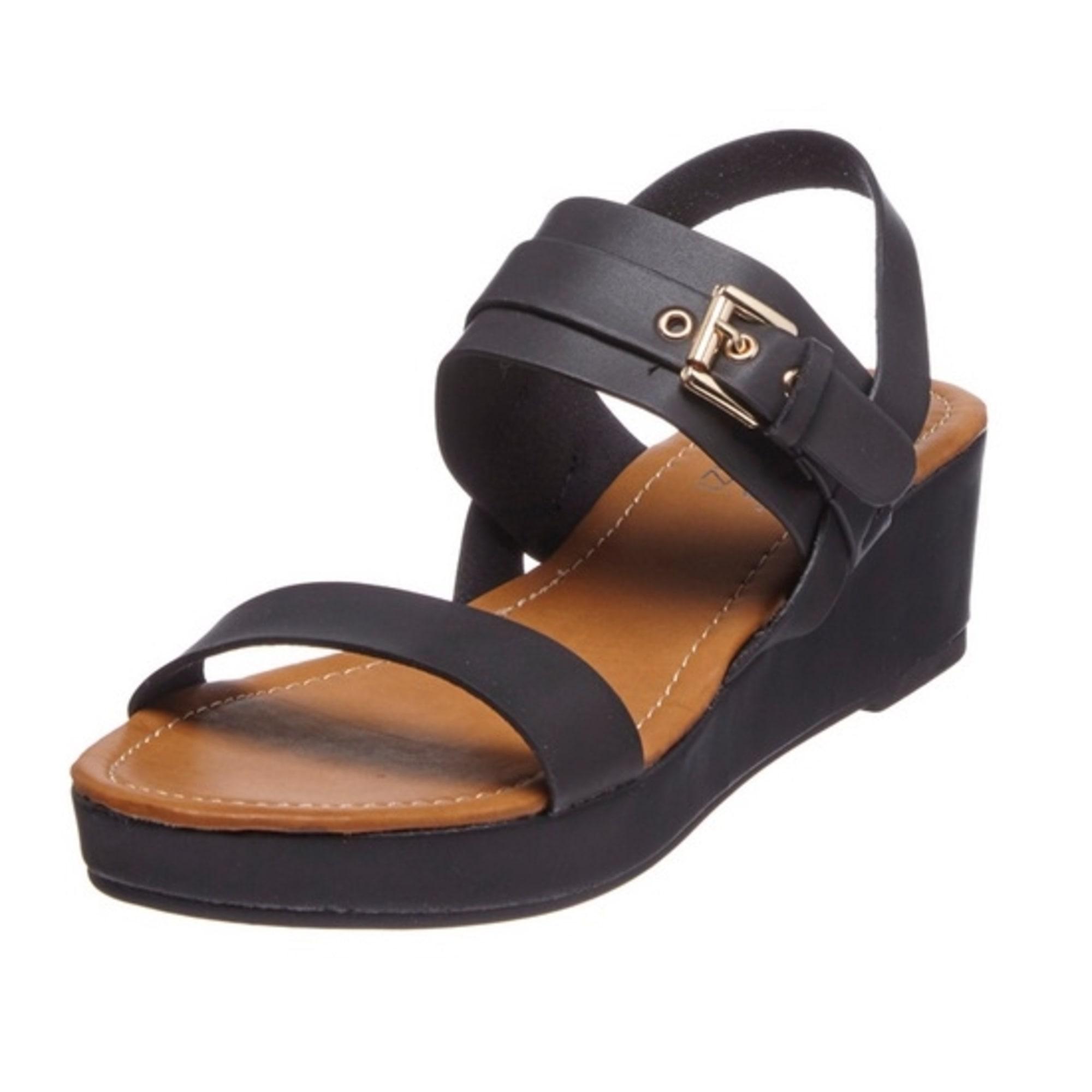Sandales compensées SERGIO TODZI Noir