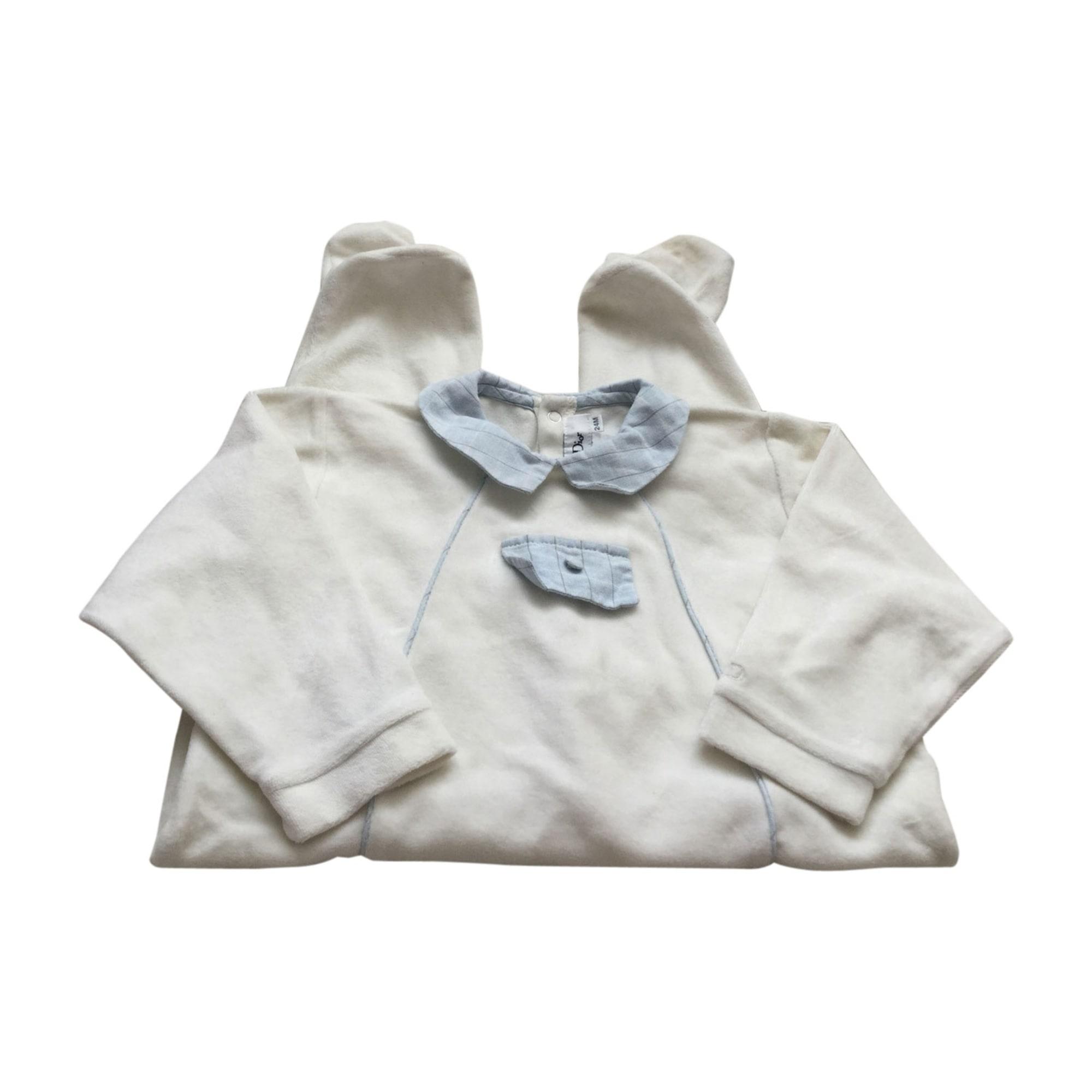 Pyjama BABY DIOR White, off-white, ecru