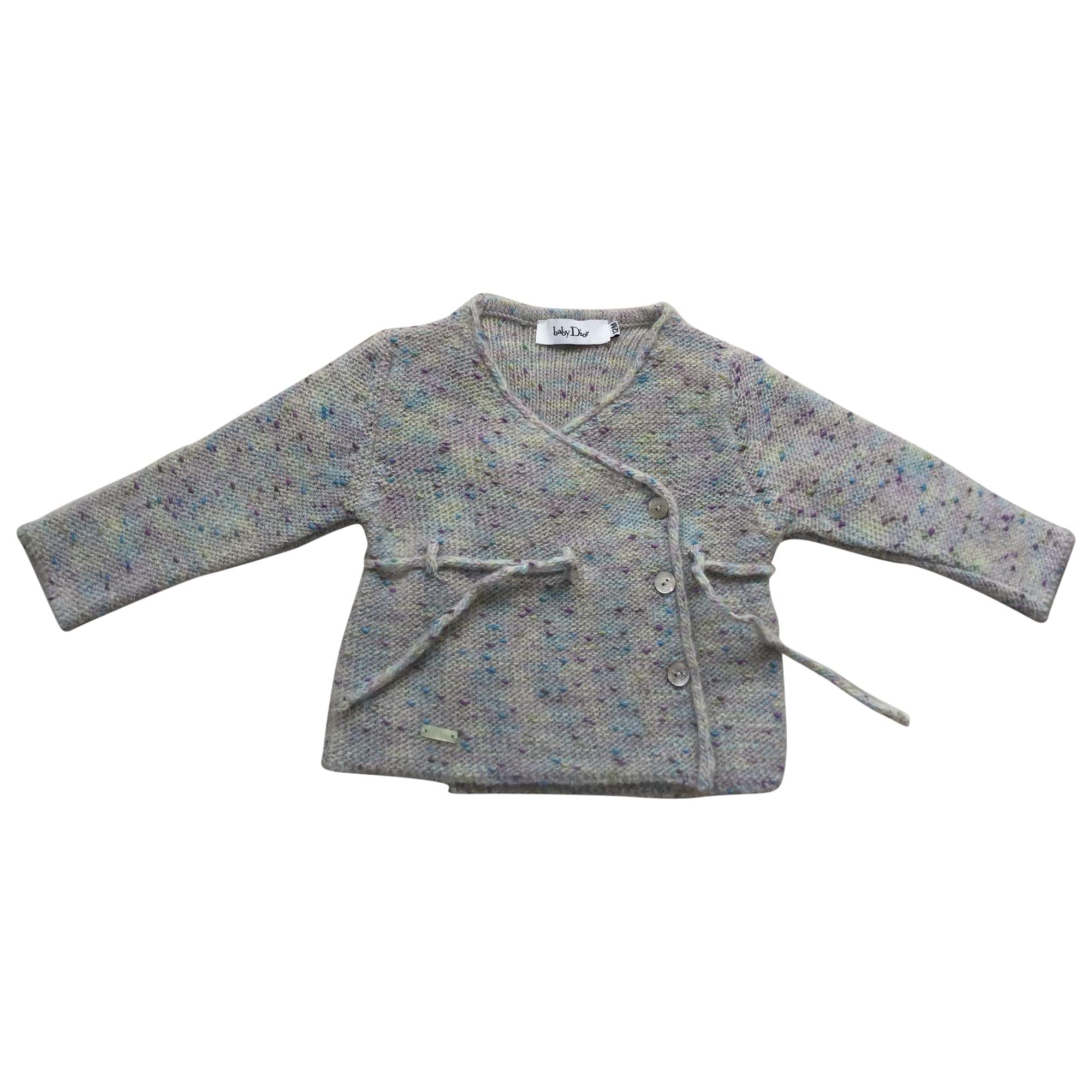 Vest, Cardigan BABY DIOR Gray, charcoal