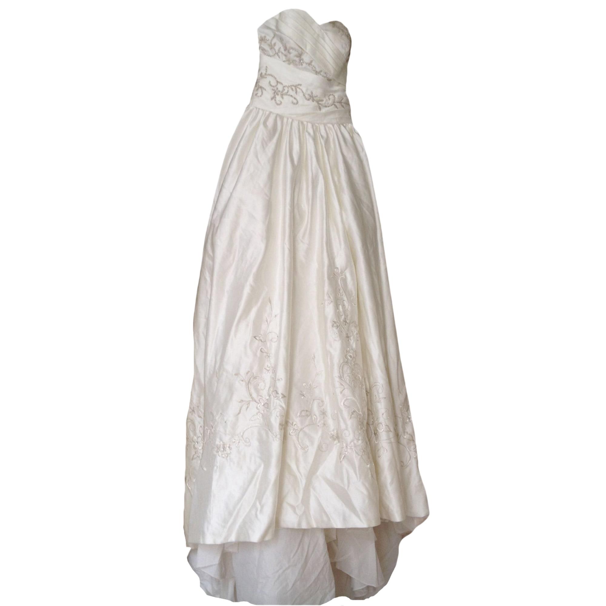 Robe de mariée QUEEN'S 19 Blanc, blanc cassé, écru