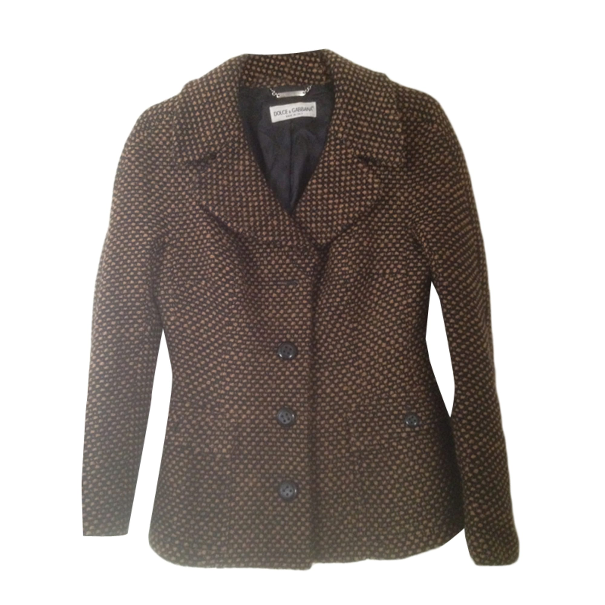 Blazer, veste tailleur DOLCE & GABBANA Marron