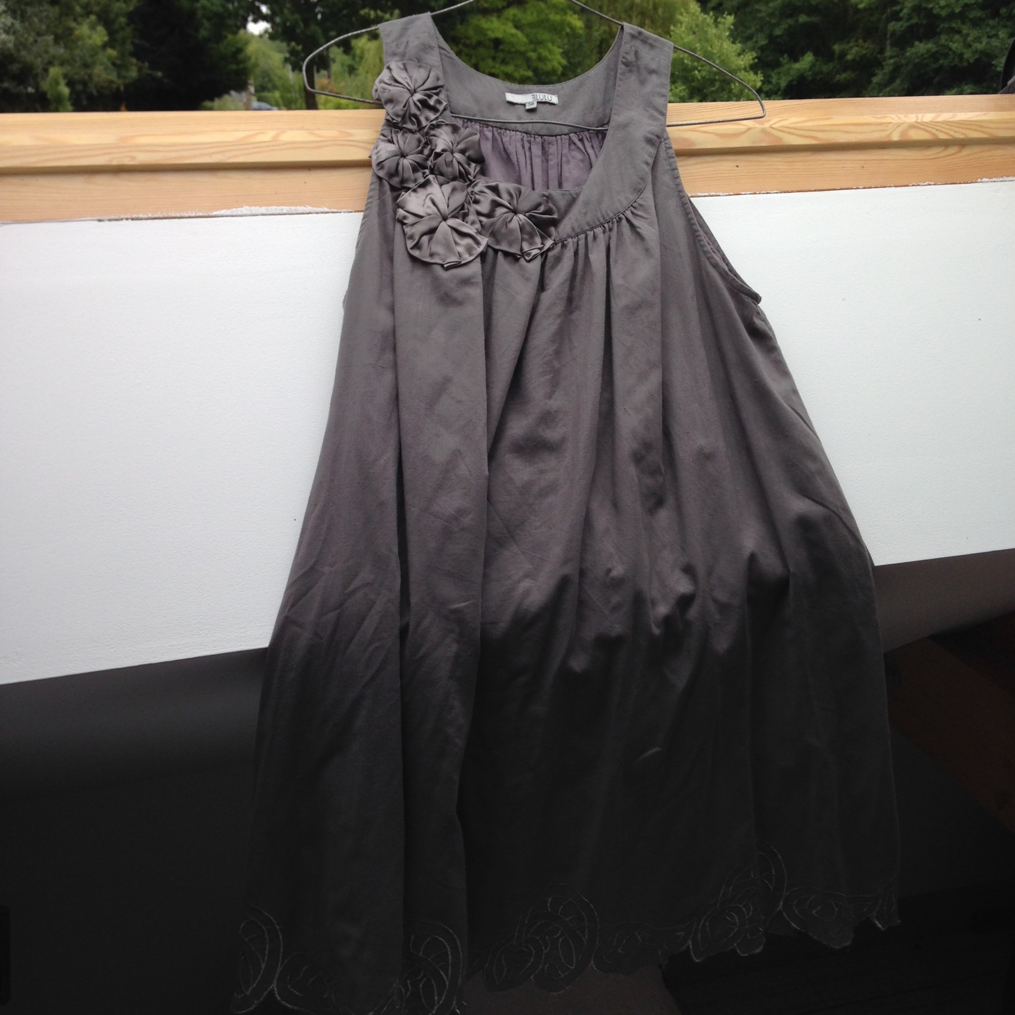 Robe courte LM LULU Gris, anthracite