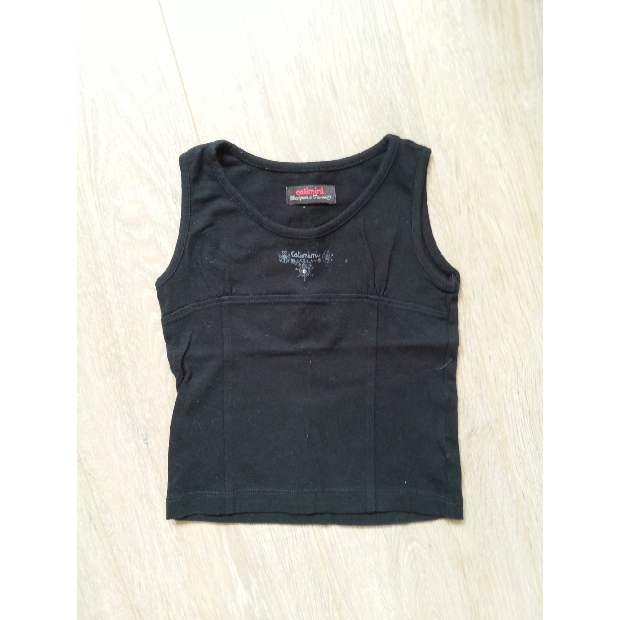 Top, Tee-shirt CATIMINI Noir